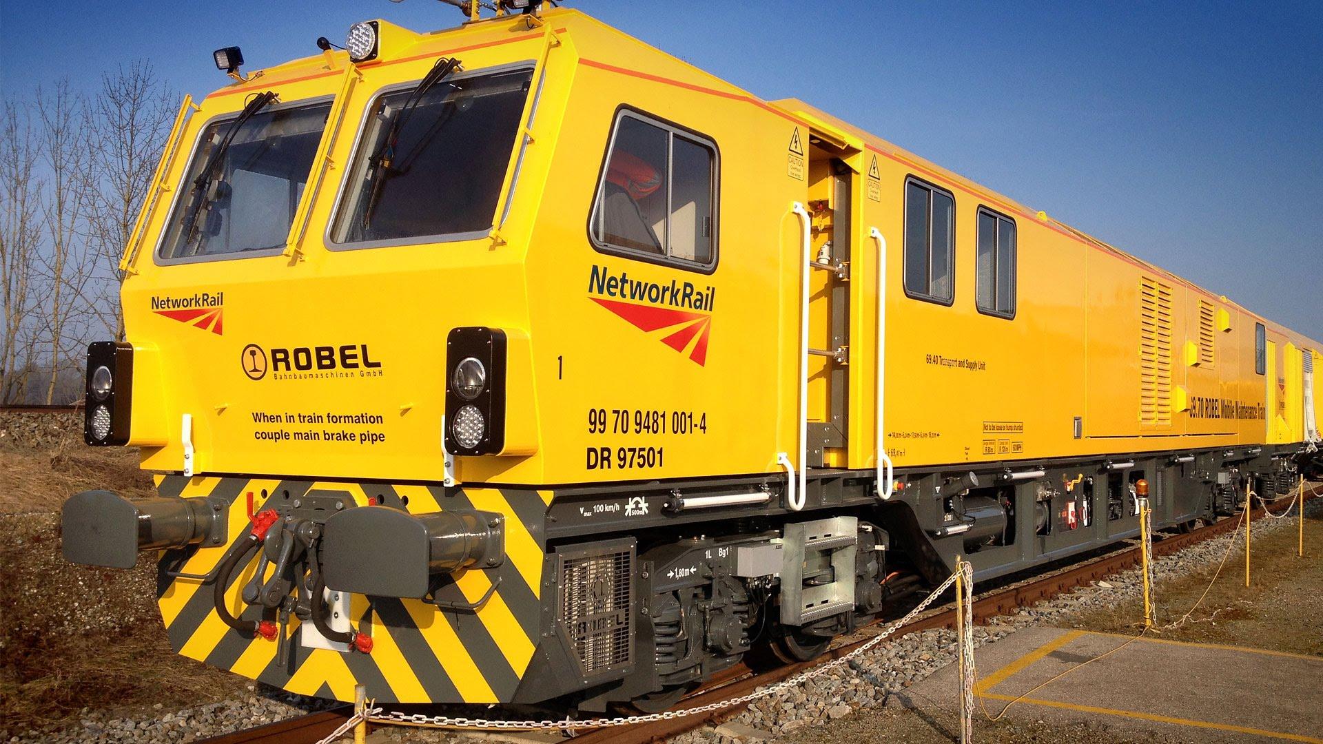 Mobile Maintenance Train - YouTube