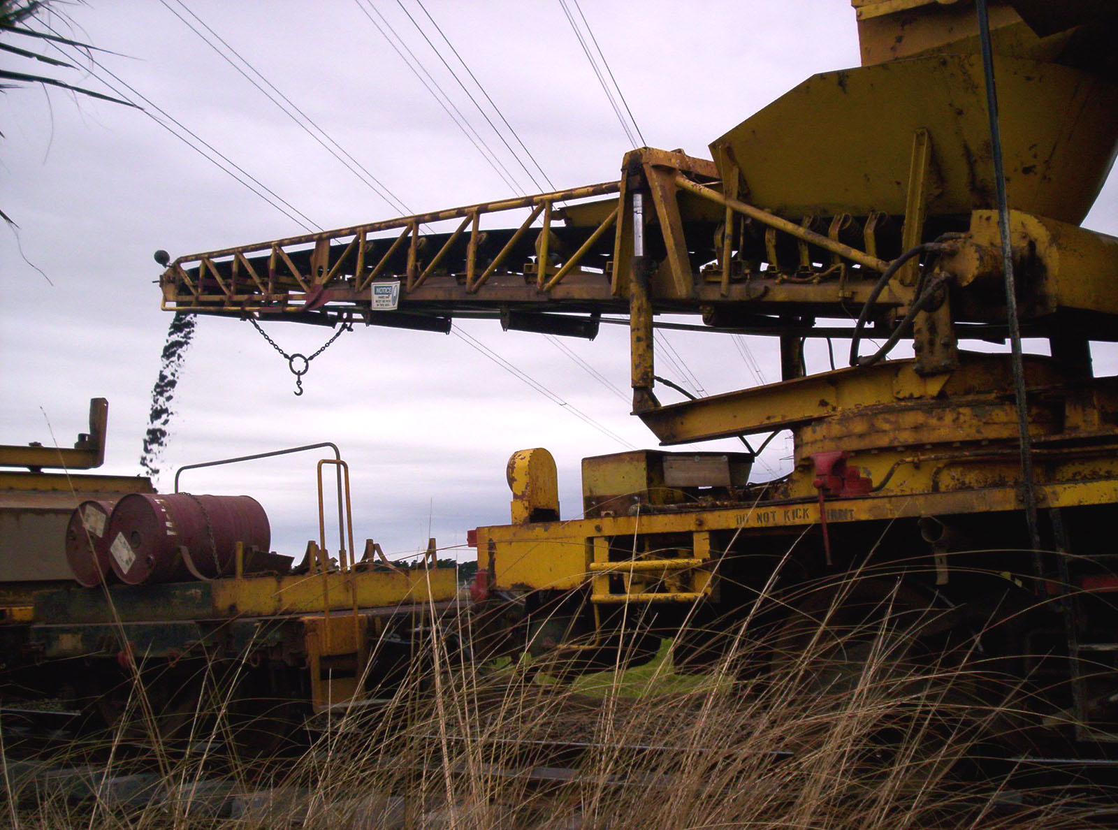 Railway Maintenance, Adjusting, Belt, Bspo06, Conveyor, HQ Photo