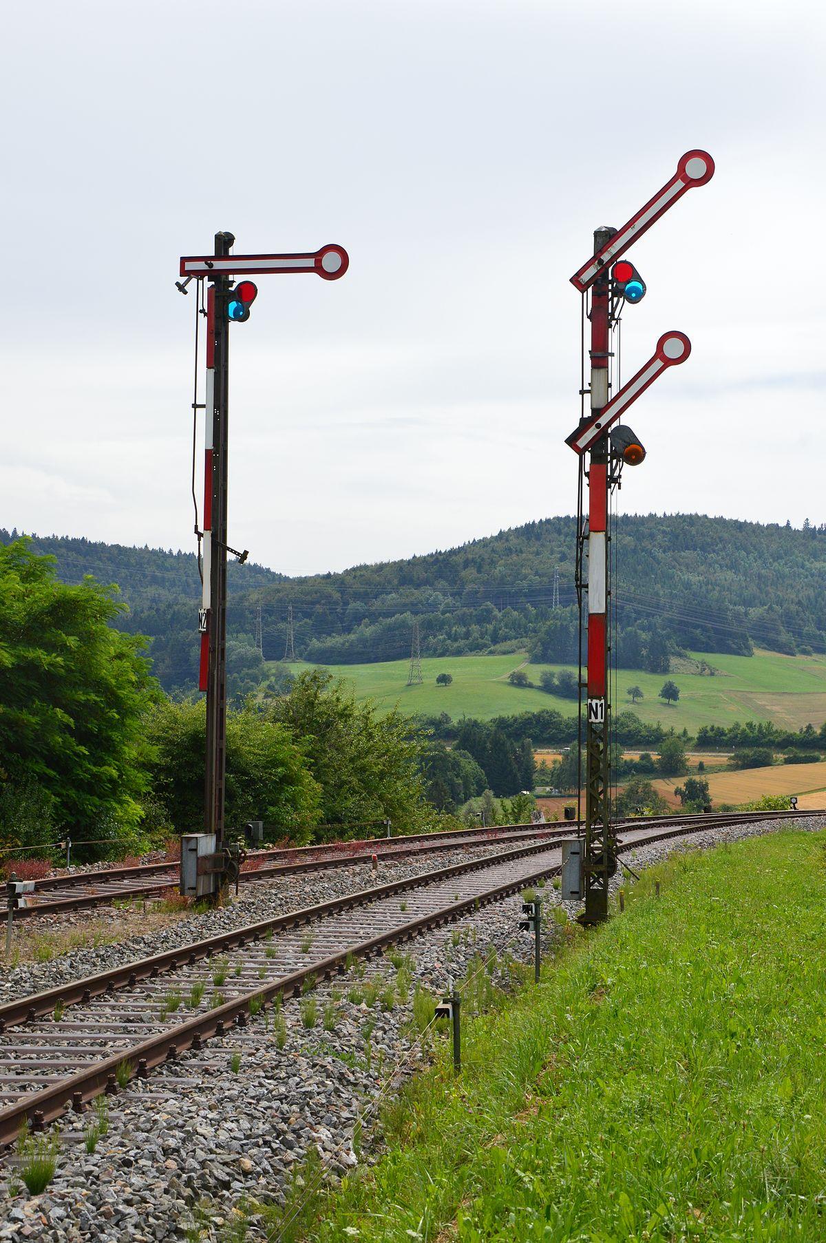 Railway signal - Wikipedia