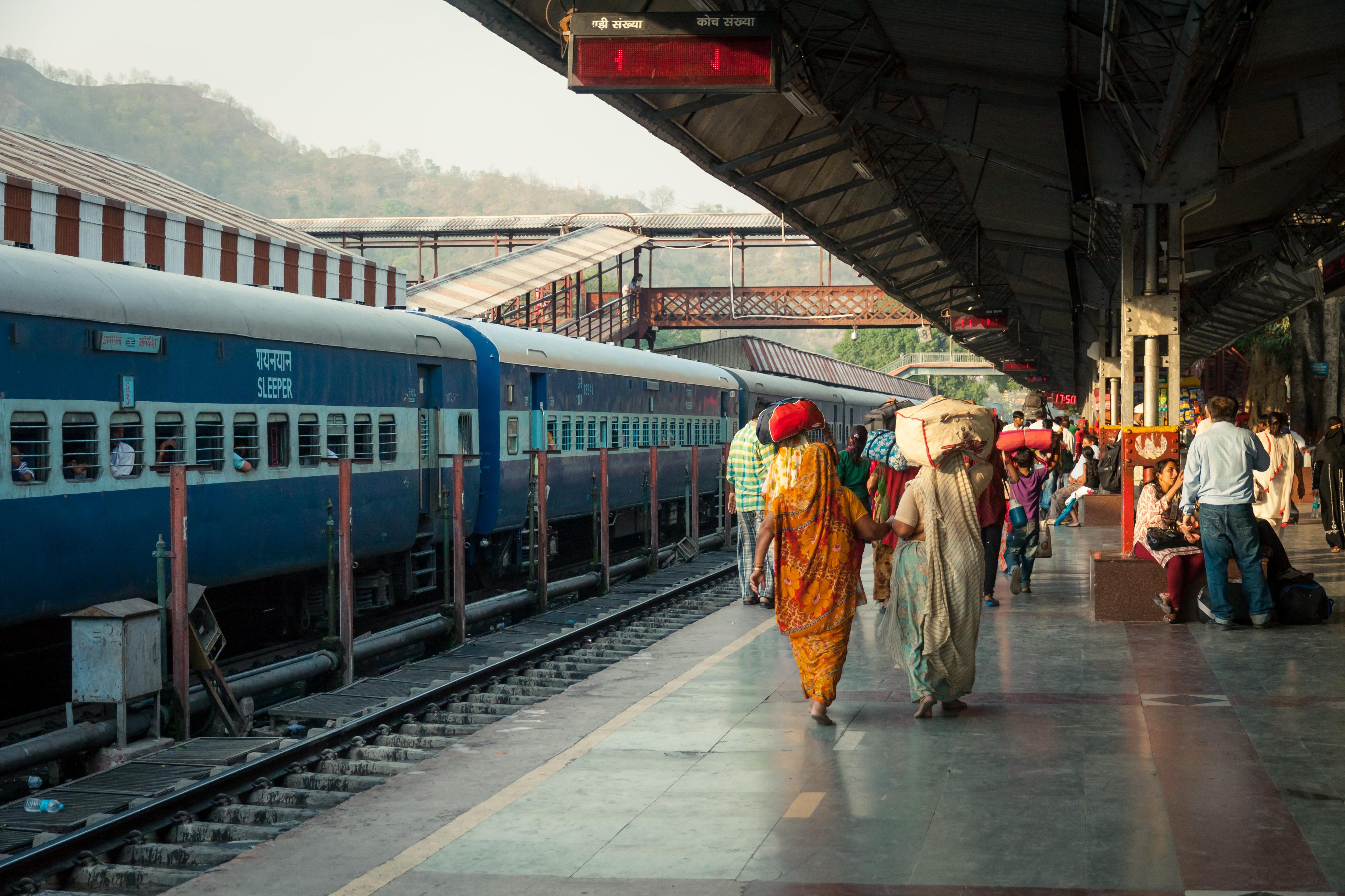 Free photo Railway station Engineering Railway