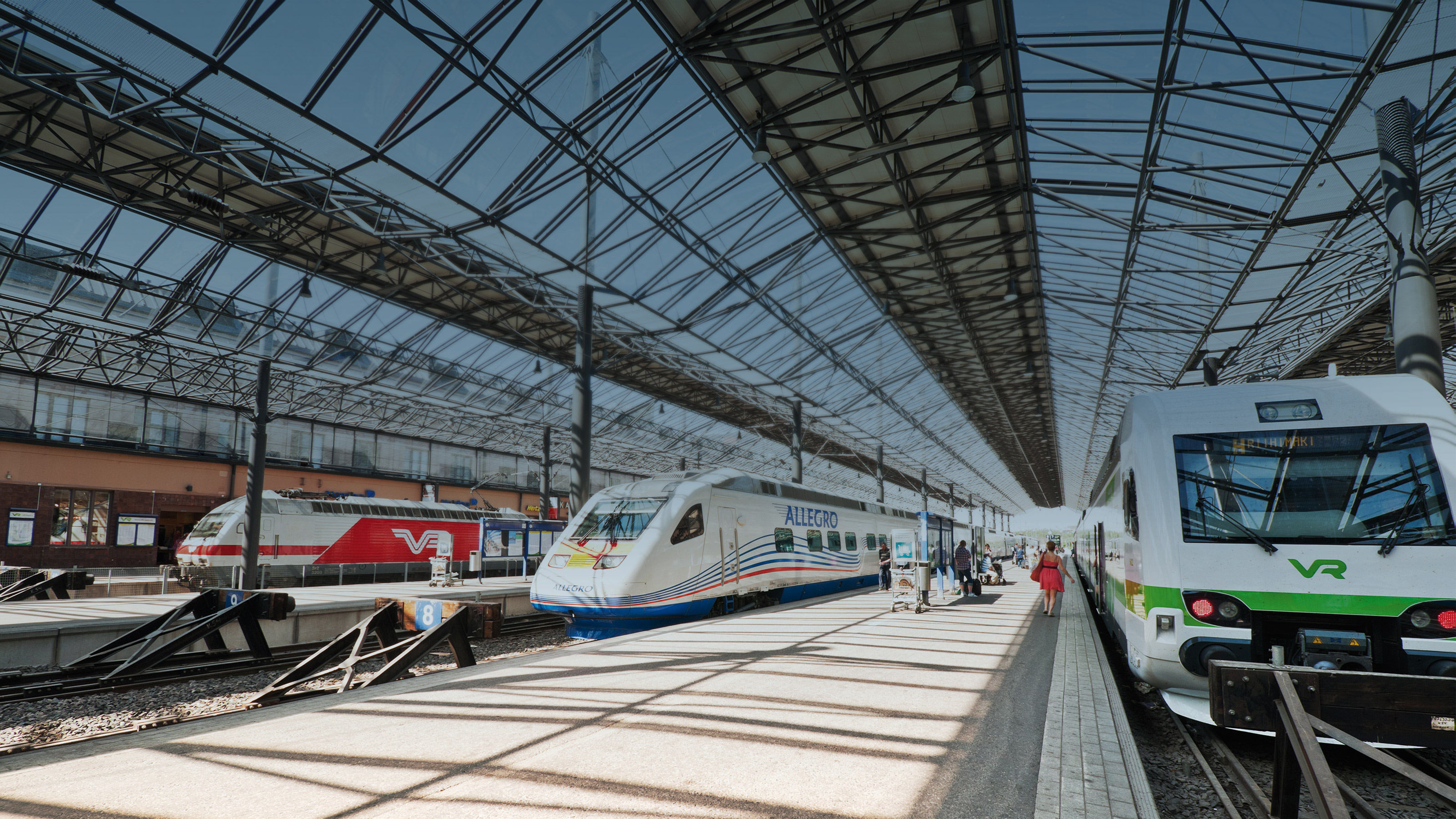 Solutions for railways and train station facilities | Bosch Global