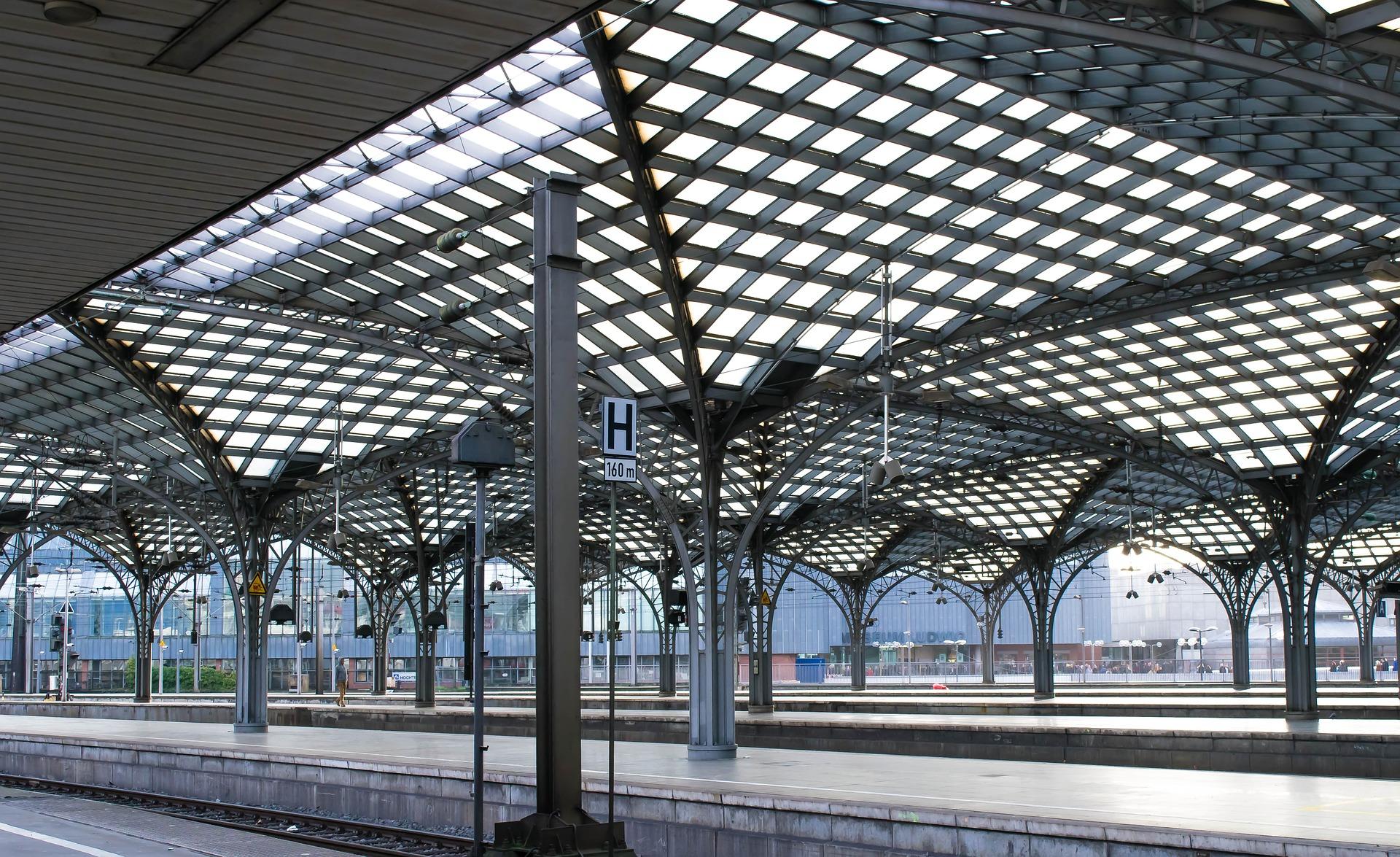 Railway Station, Metal, Rail, Railway, Service, HQ Photo