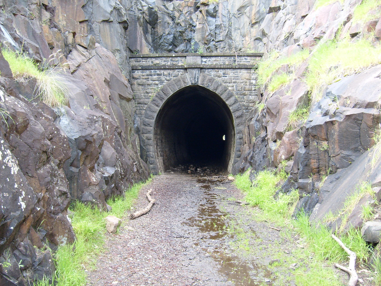Railway tunnel photo