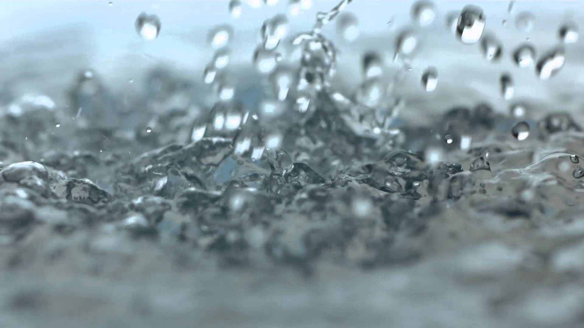 Rainfall Slow Motion HD Heavy Rain Drops Falling in Slow Mo Video ...