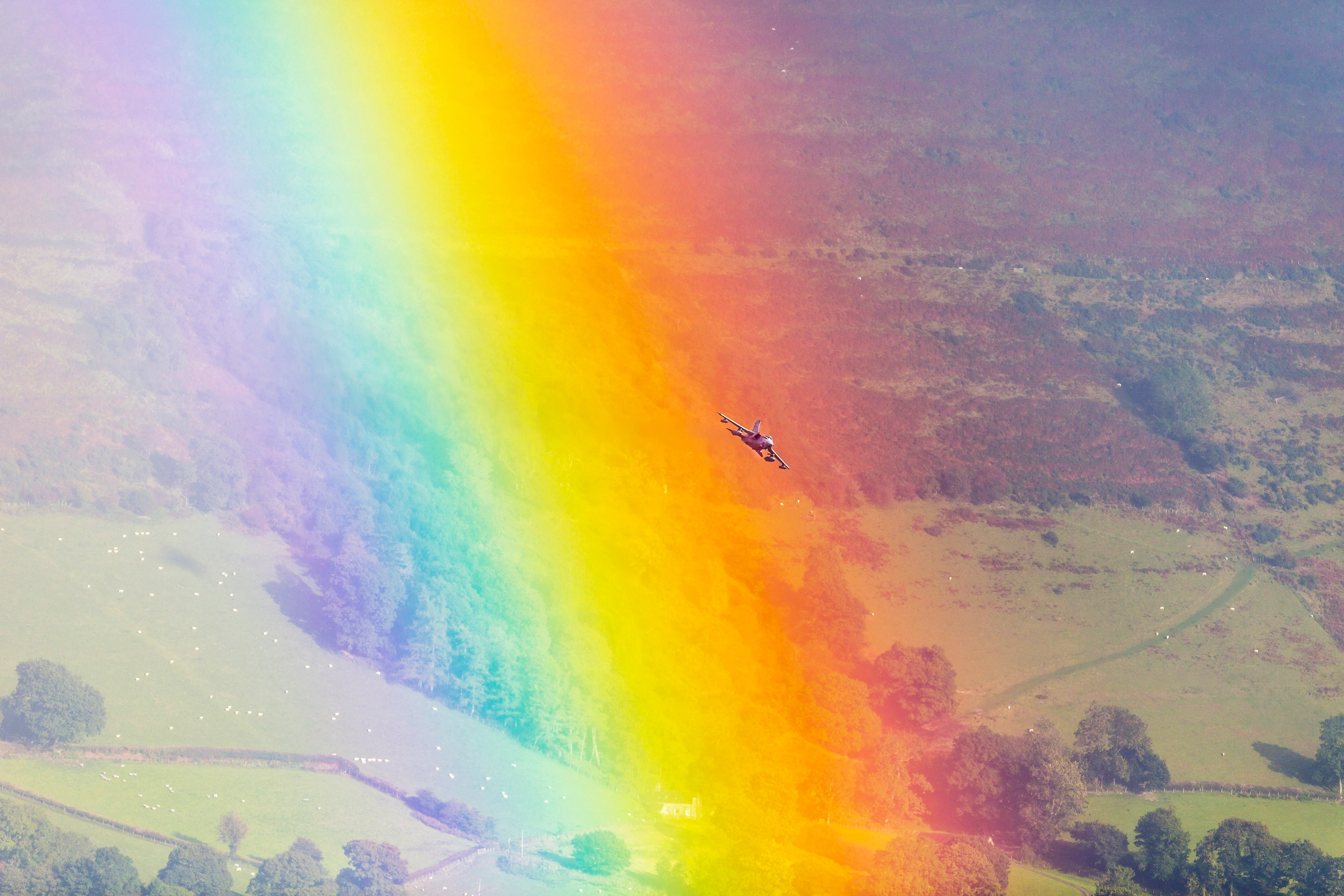 Wanna See a Fighter Jet Fly Through a Rainbow? Of Course You Do | WIRED