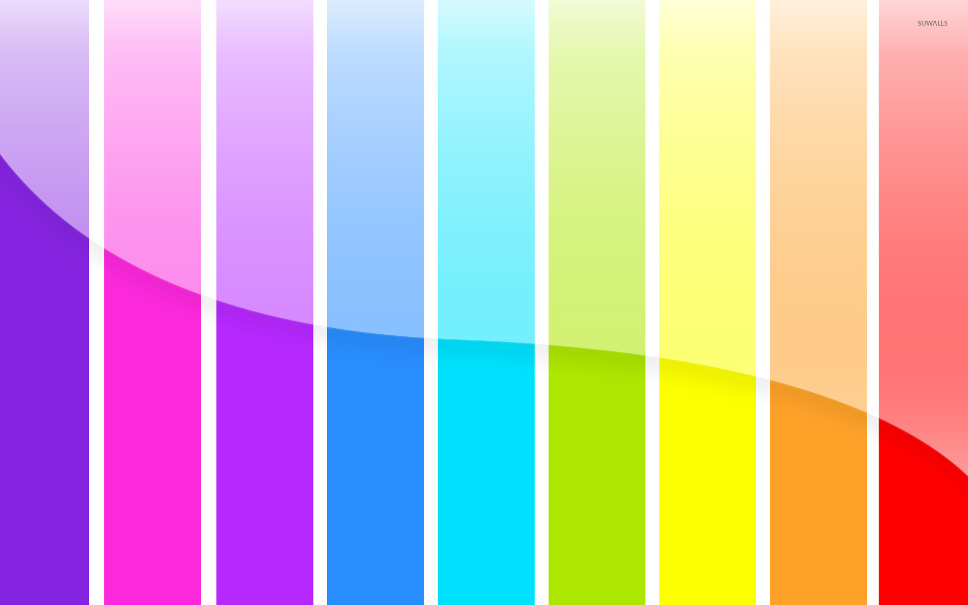 Rainbow stripes [2] wallpaper - Abstract wallpapers - #16088