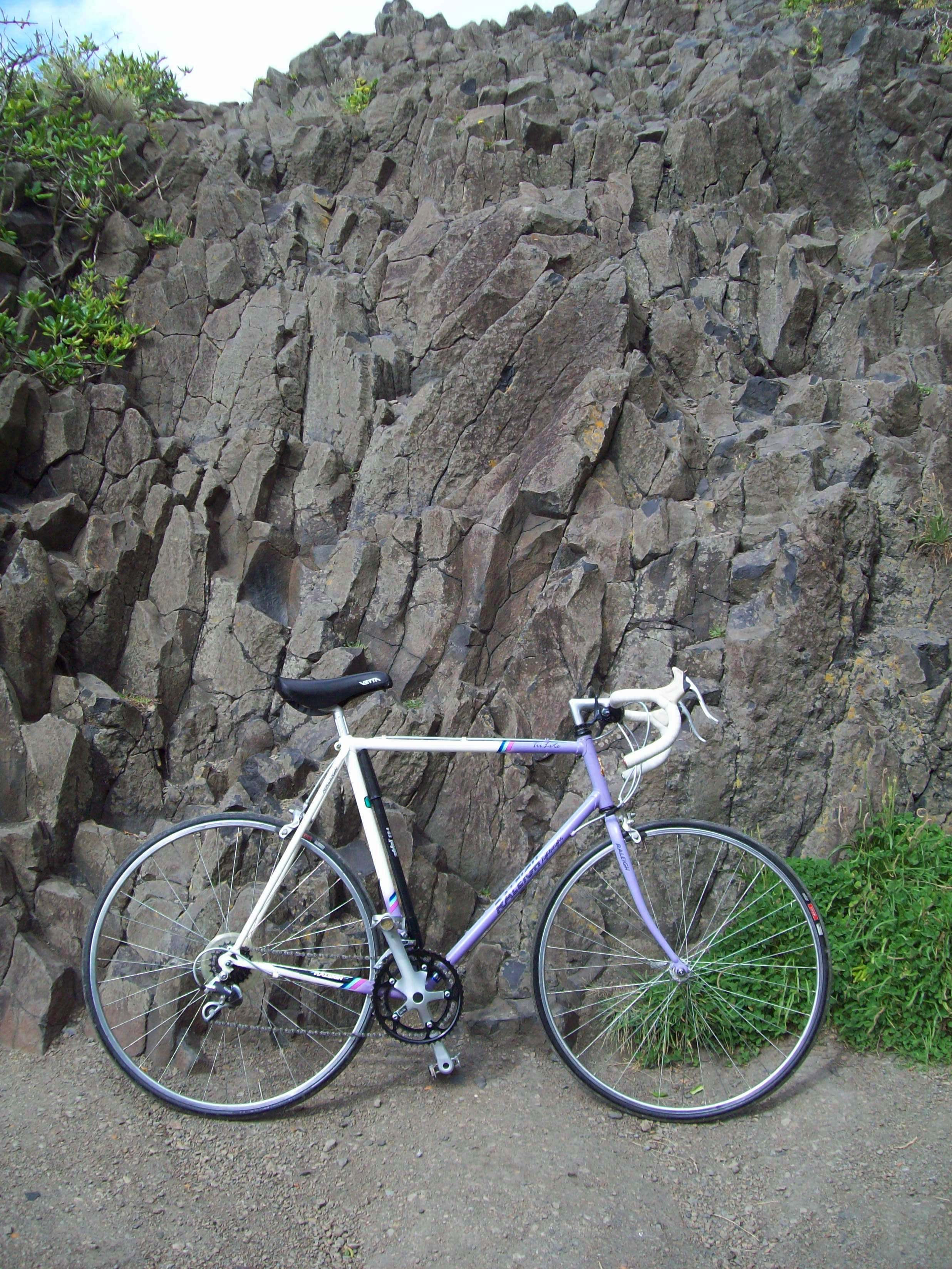 Raleigh trilite and basalt - second beac photo
