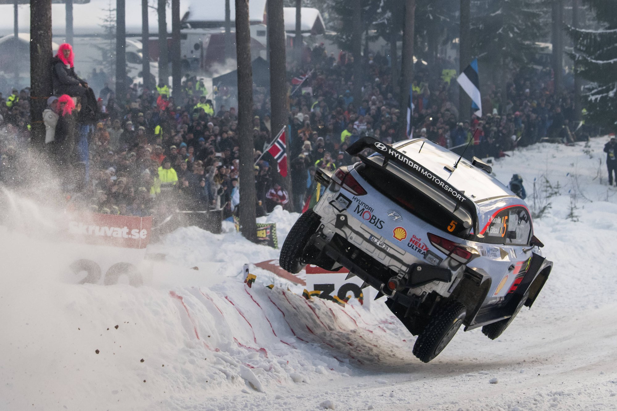 Hyundai's Neuville Wins Rally Sweden and Takes Championship Lead ...