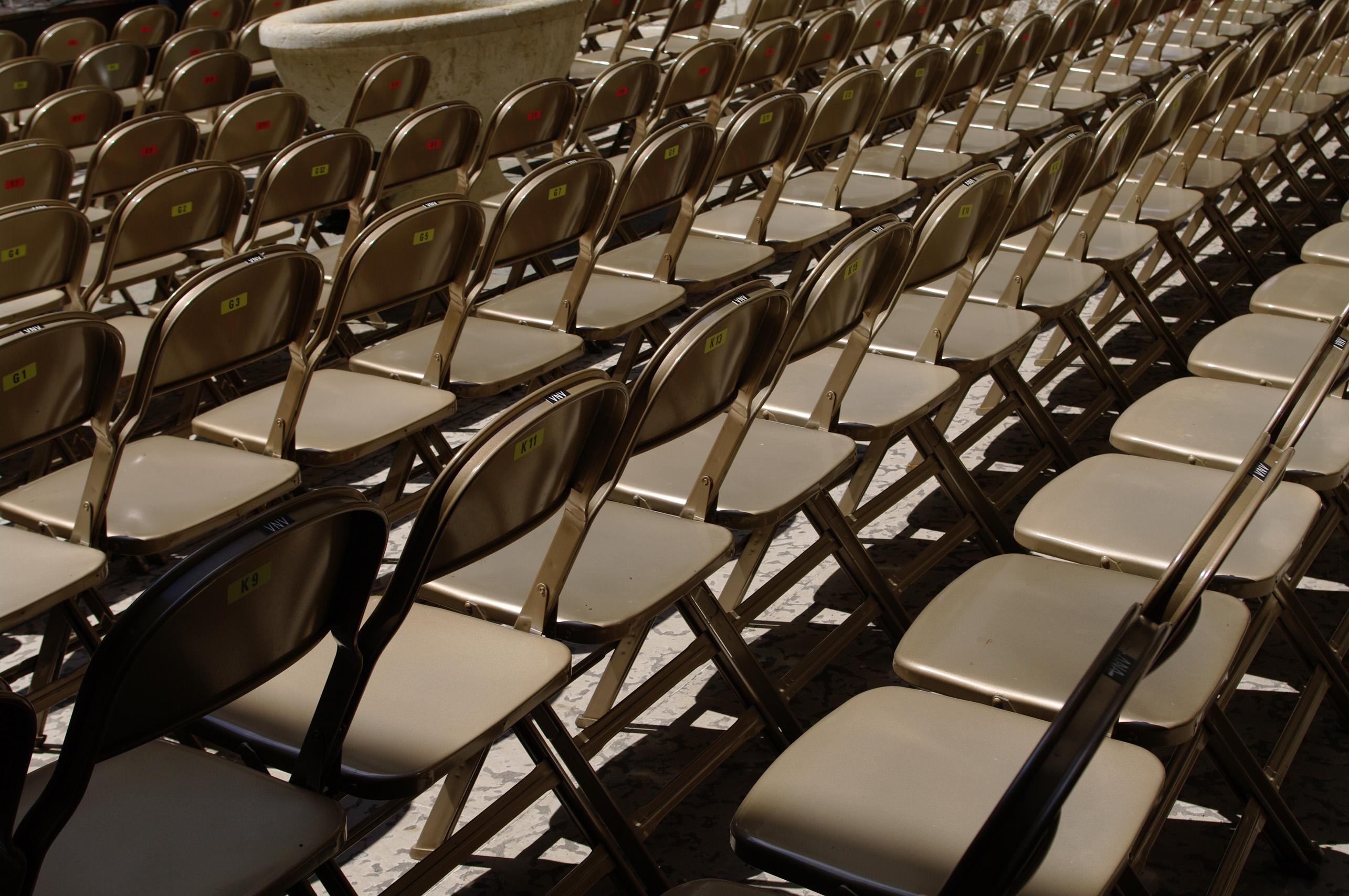 Range of chairs photo