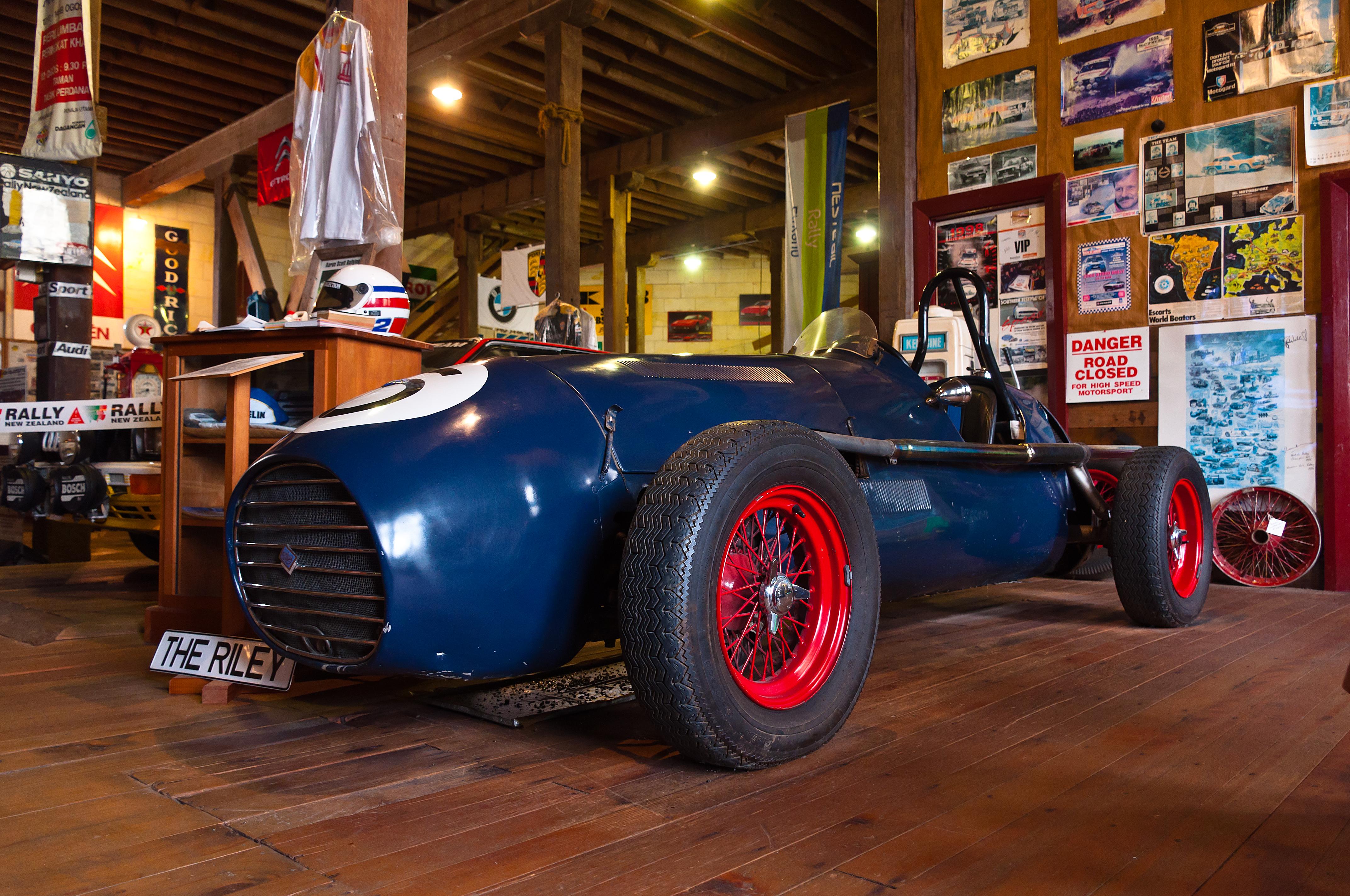Ransley Riley 1953, Rally, Riley, Sport, Zealand, HQ Photo
