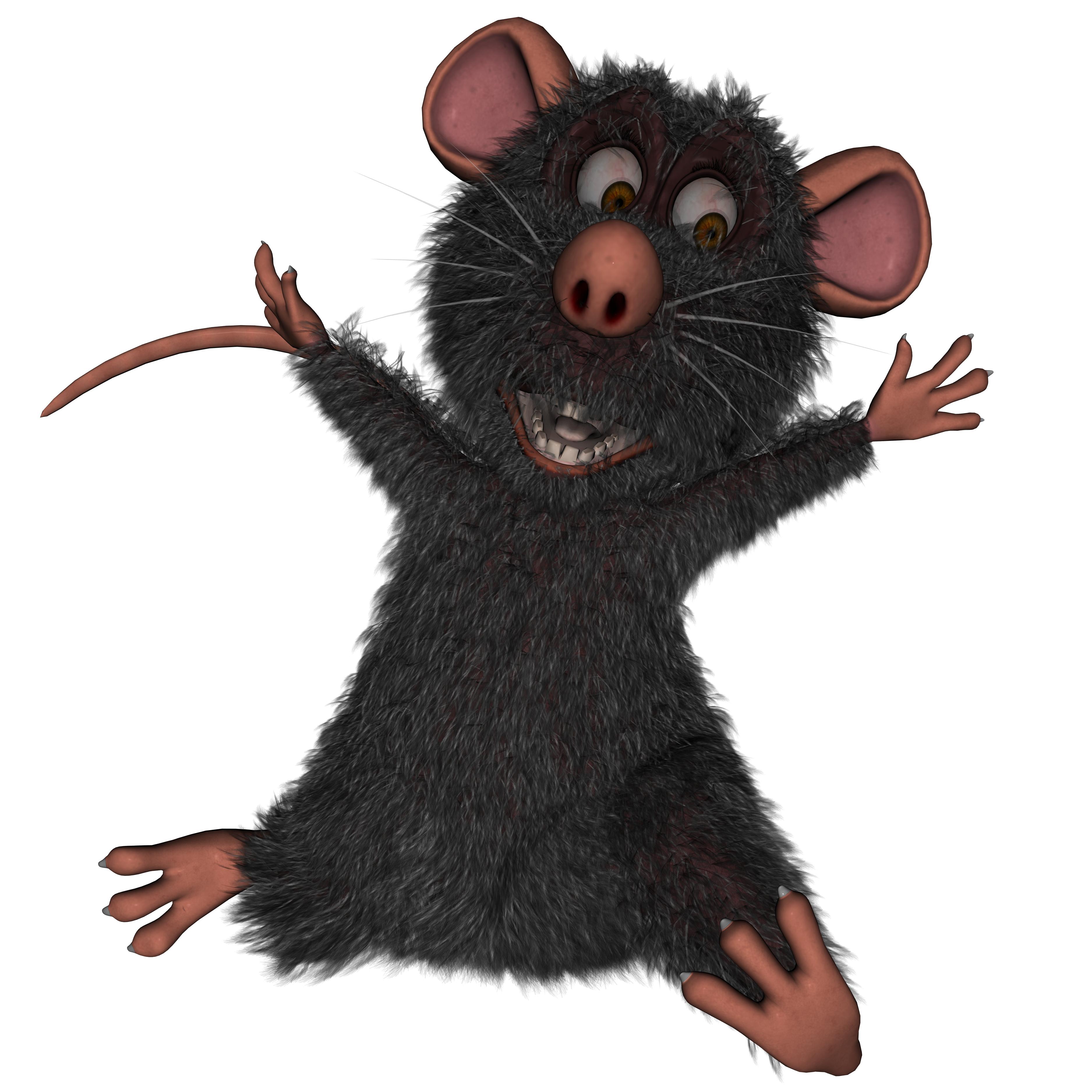 Rat, 3d, Cartoon, Character, Cute, HQ Photo