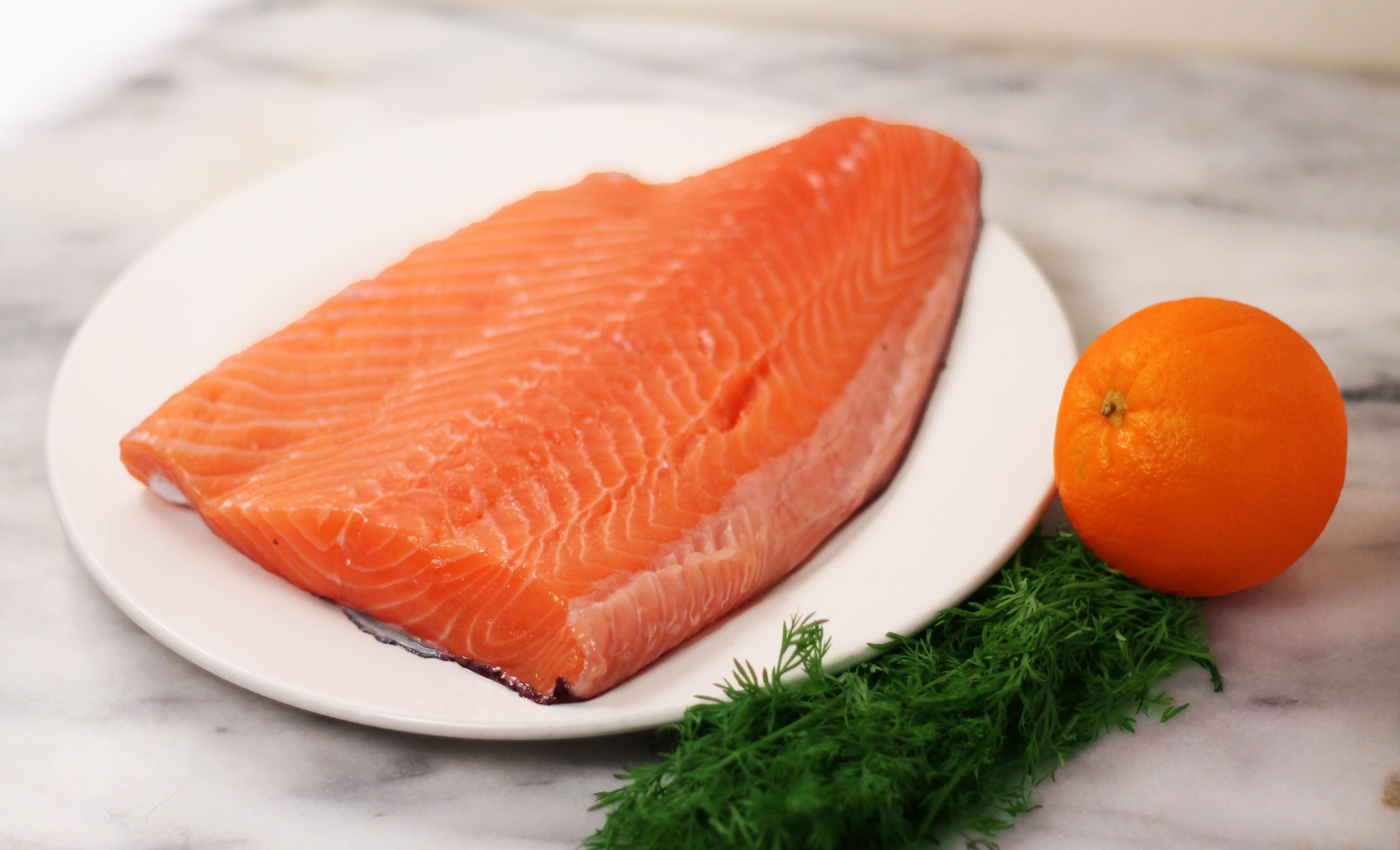 Raw Salmon – Smoke and Thyme