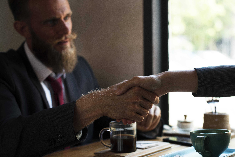 Reaching an Agreement, Activity, Agreement, Beard, Business, HQ Photo