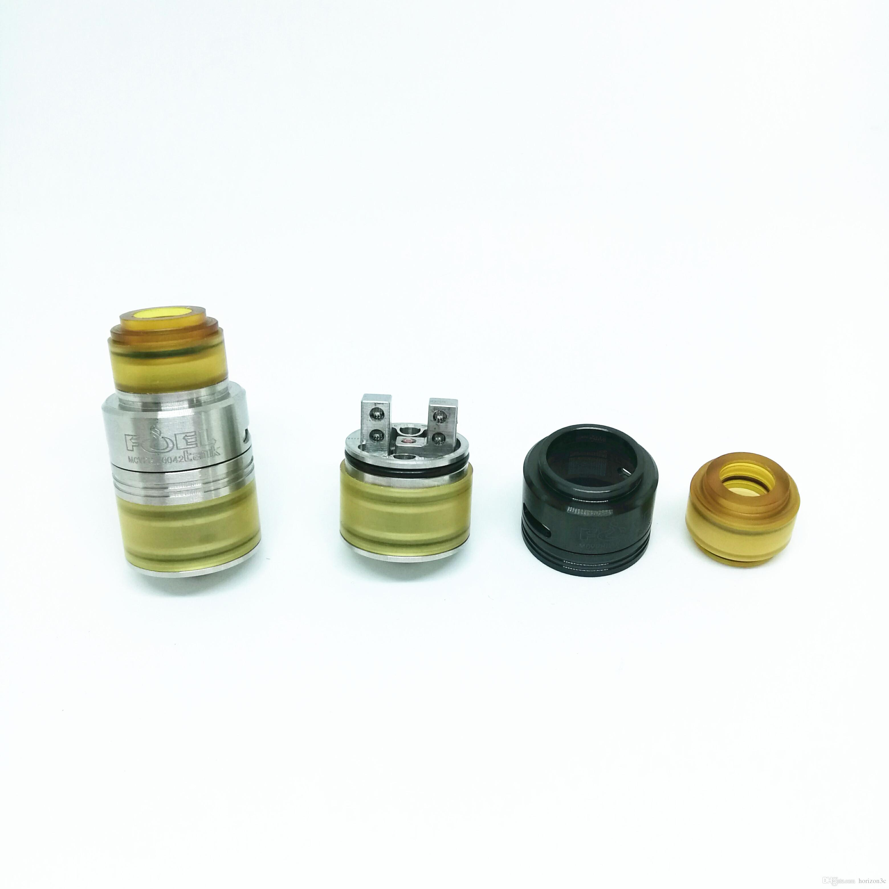 Fuel Rdta Rebuildable Drippping Atomizers 2 Post Design Slanted ...