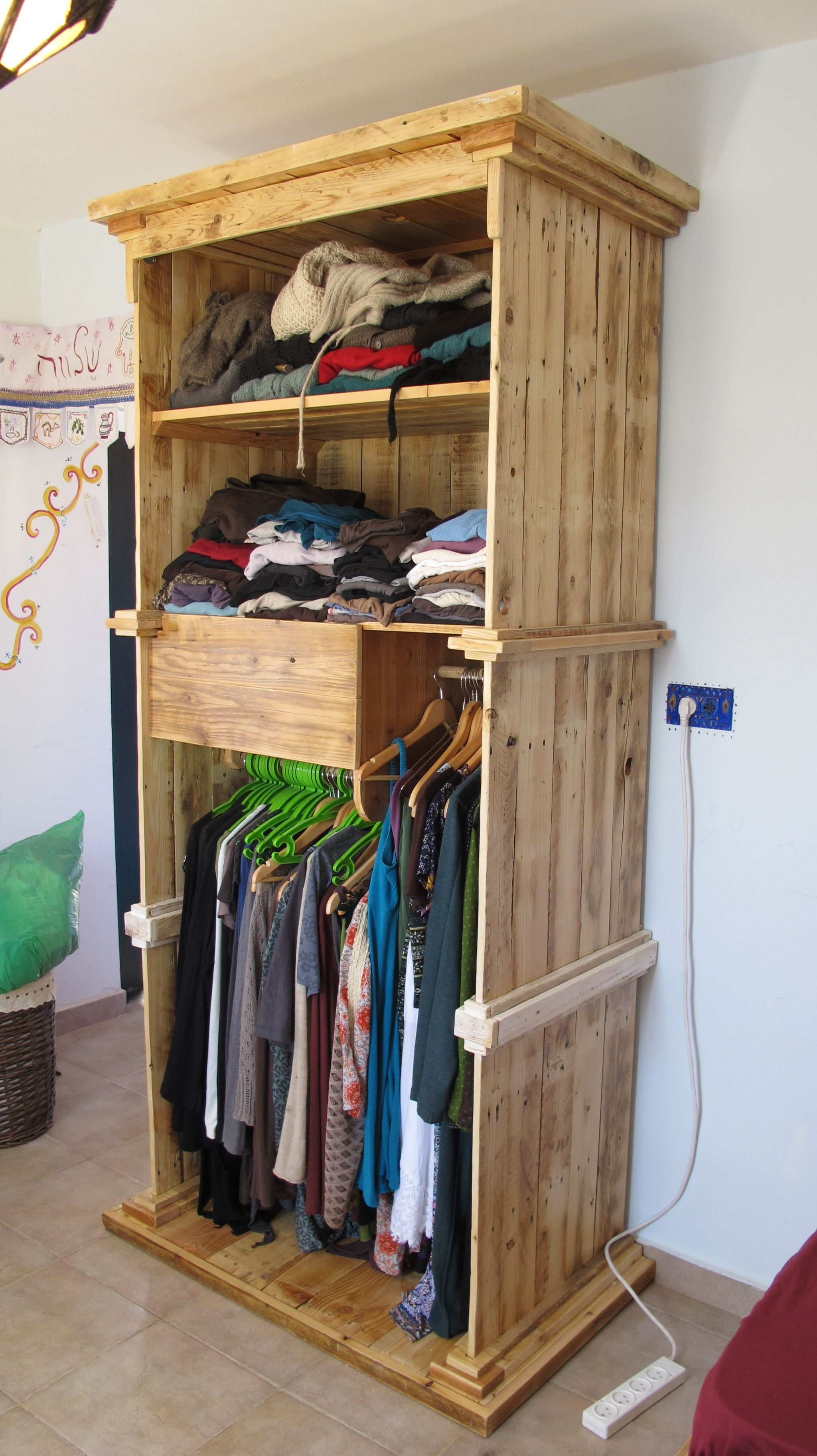 recycled wood - wardrobe | my work | Pinterest | Woods, Pallets and ...