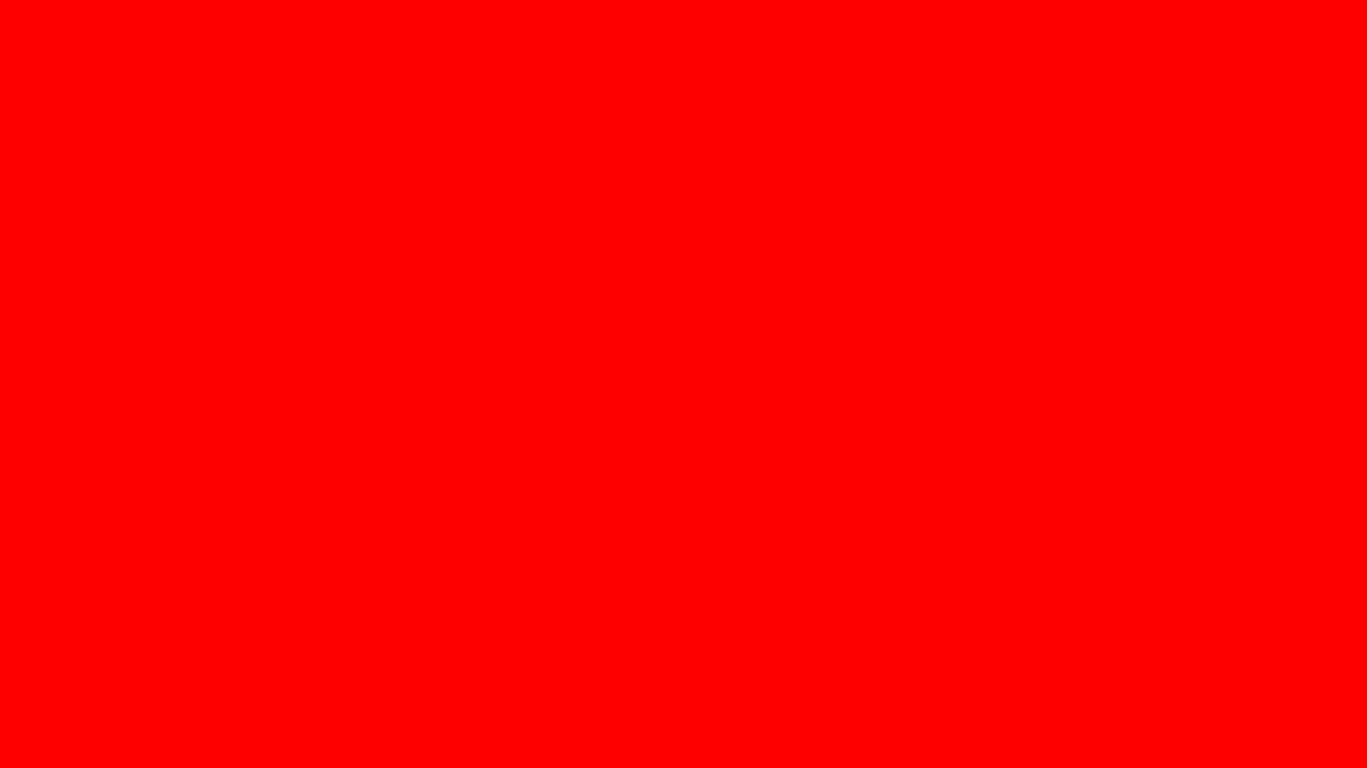 1920x1080 Red Solid Color Background