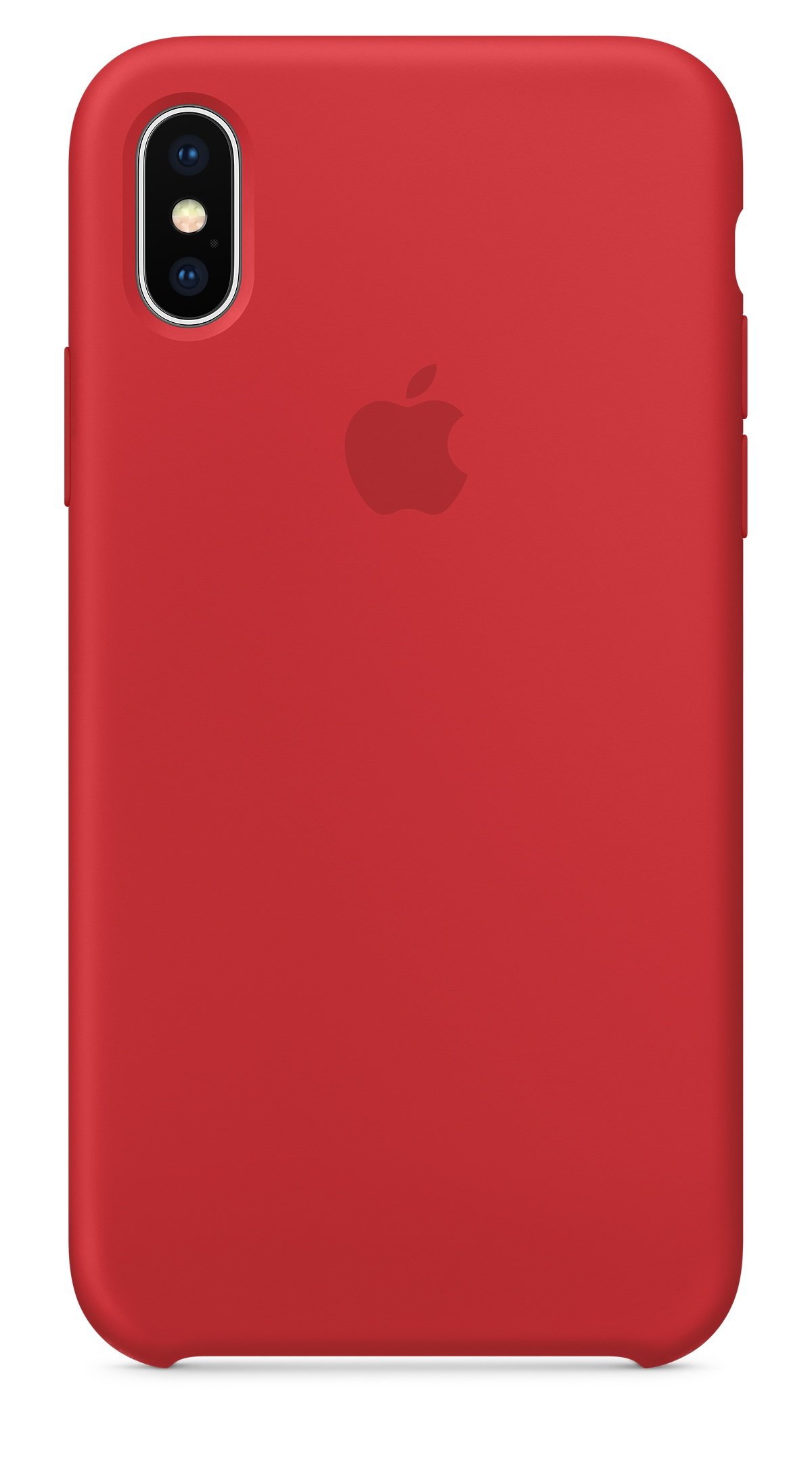 iPhone X Silicone Case - (PRODUCT)RED - Apple