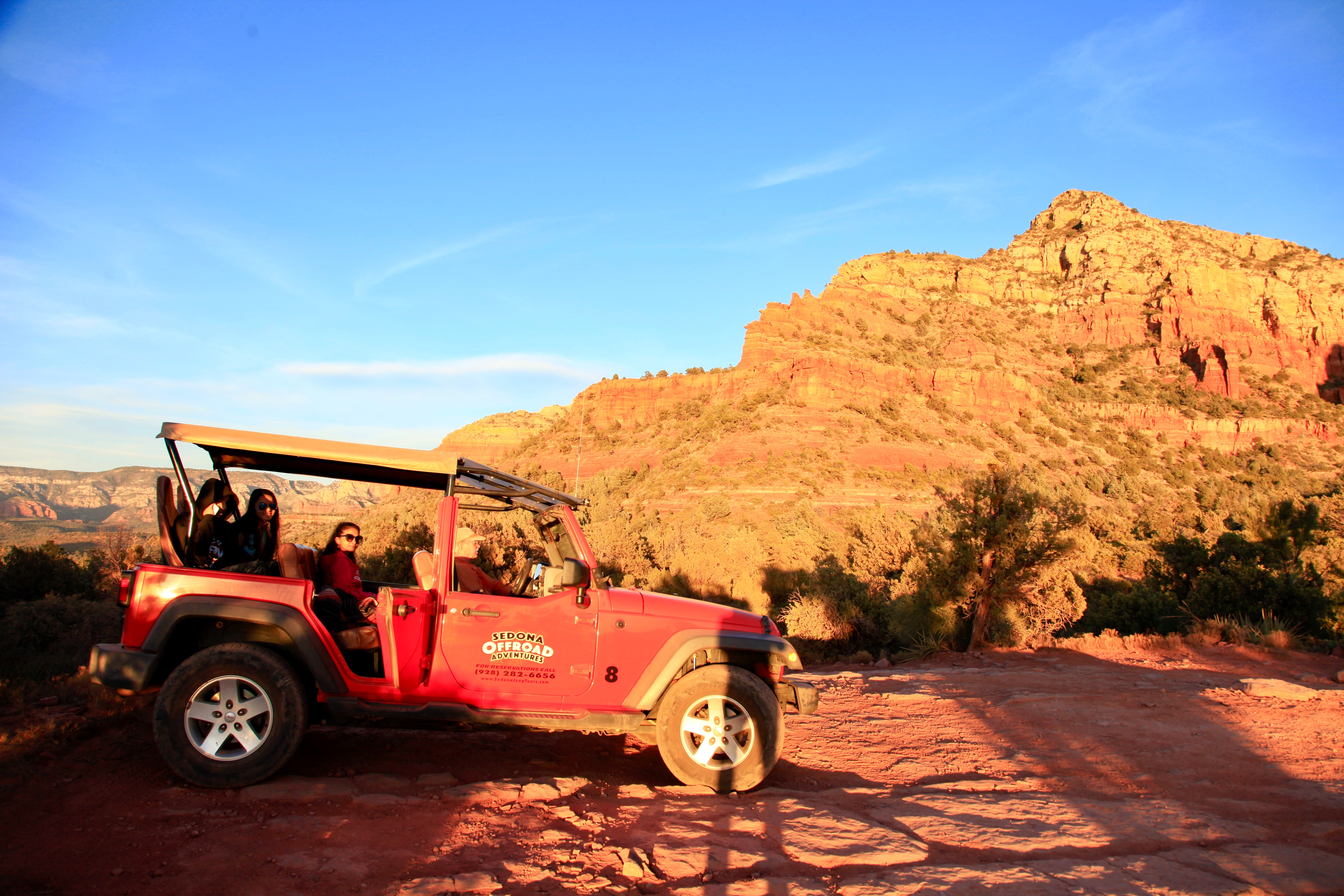 Red All-terrain Vehicle on Brown Rock Field during Sunset, Adventure, Offroad, Vehicle, Transportation system, HQ Photo