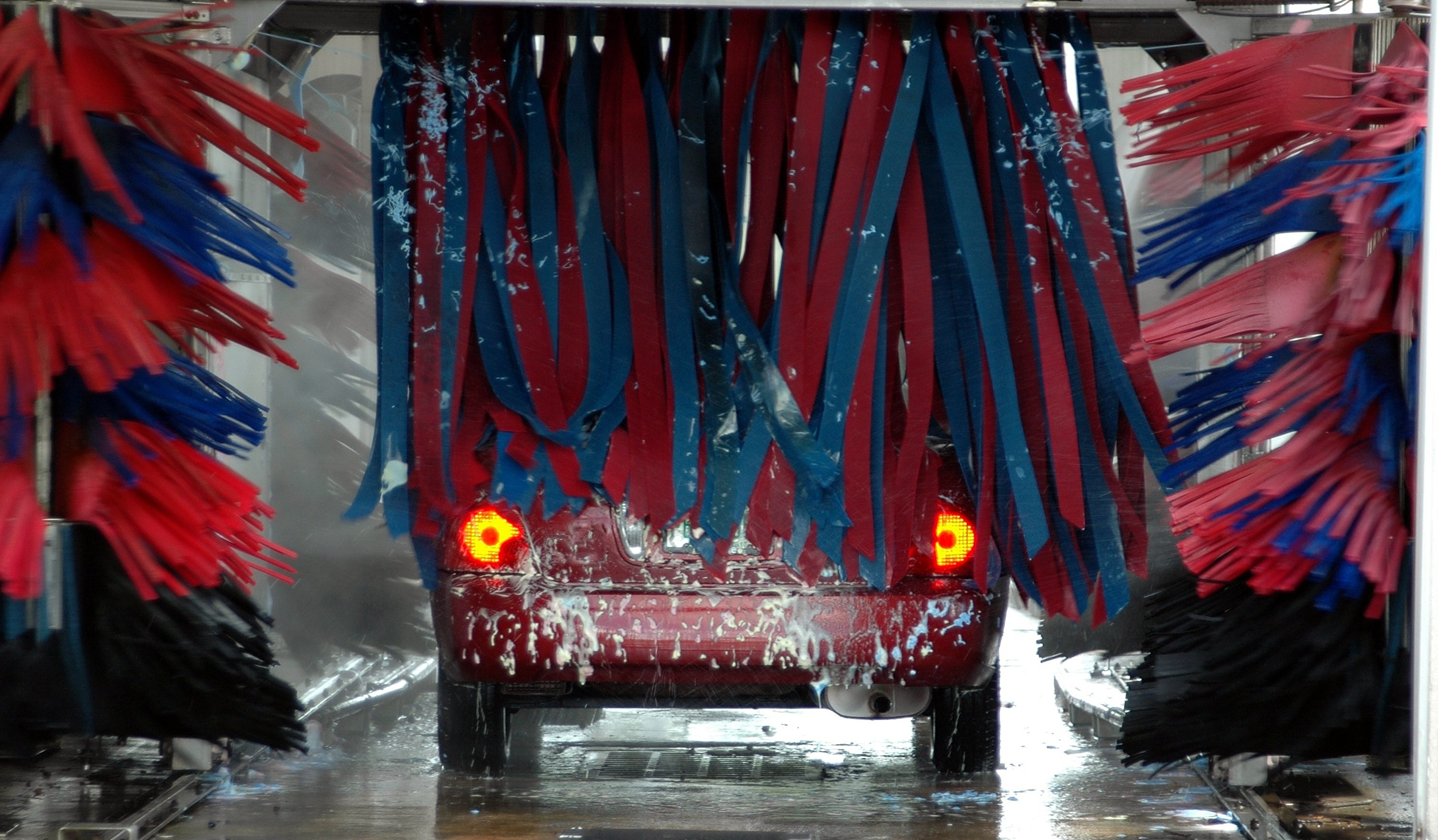Red and Black Banner, Automobile, Business, Car, Car wash, HQ Photo