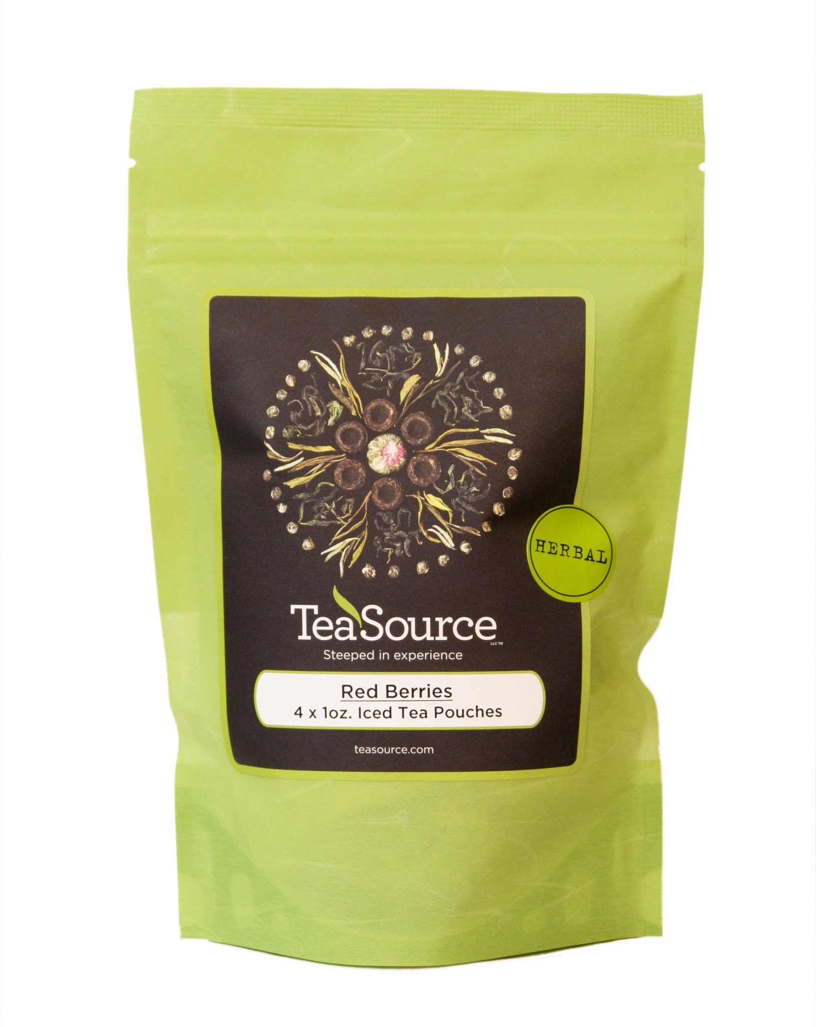 Red Berries - Iced Tea Pouches | Herbal Tea | TeaSource