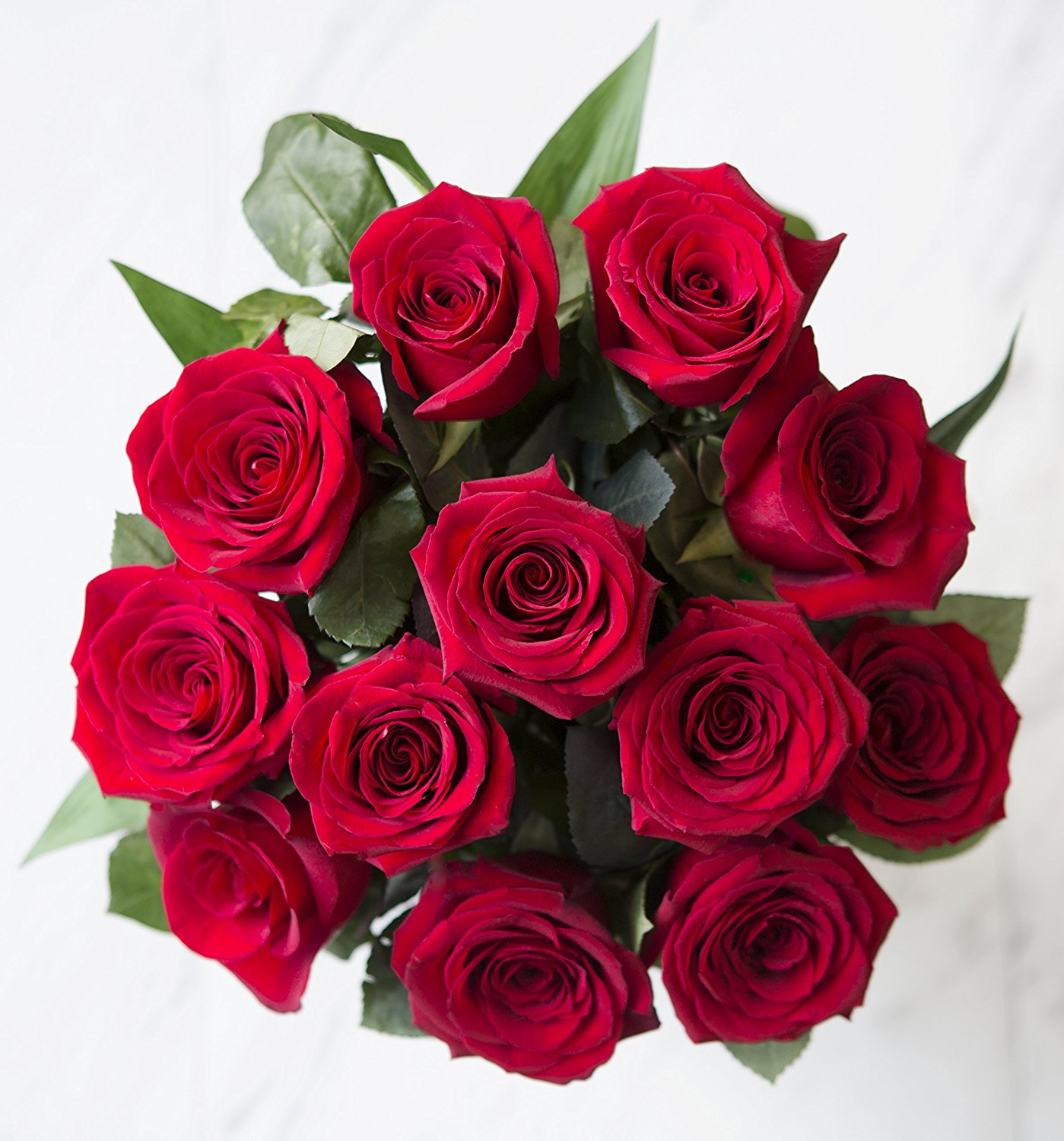 Red bouquet photo