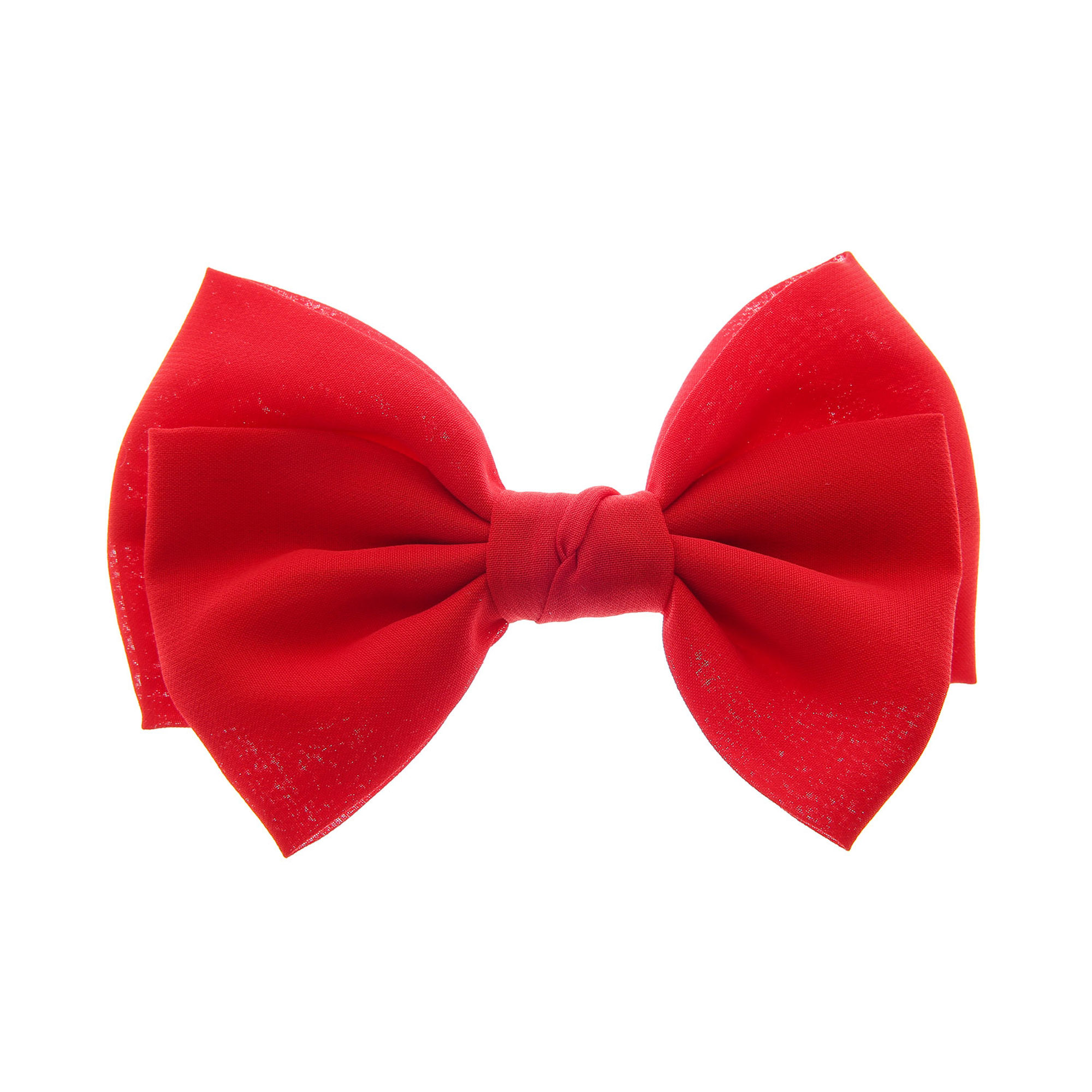 Large Red Bow Hair Clip | Claire's