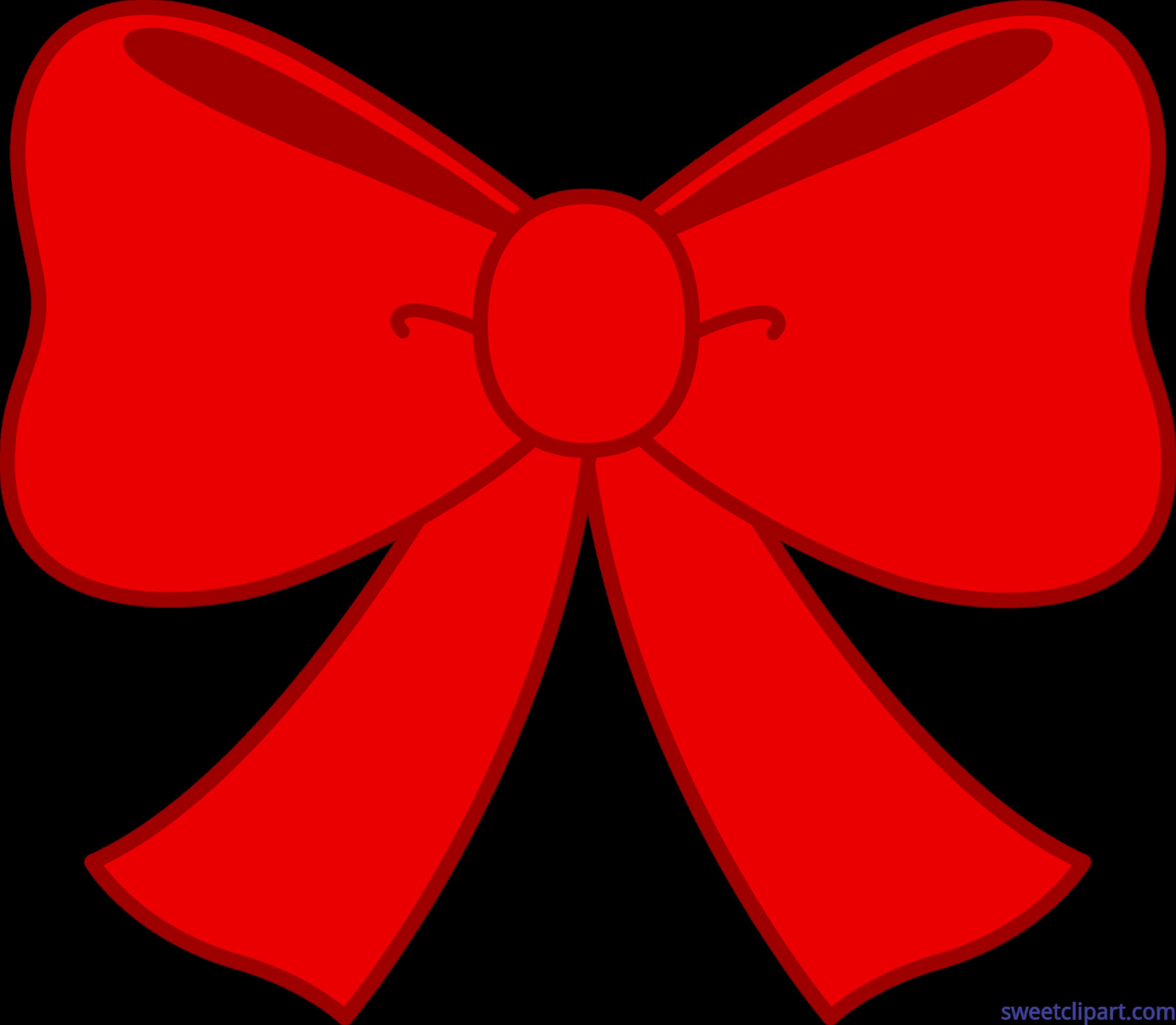 Cute Red Bow Clip Art - Sweet Clip Art