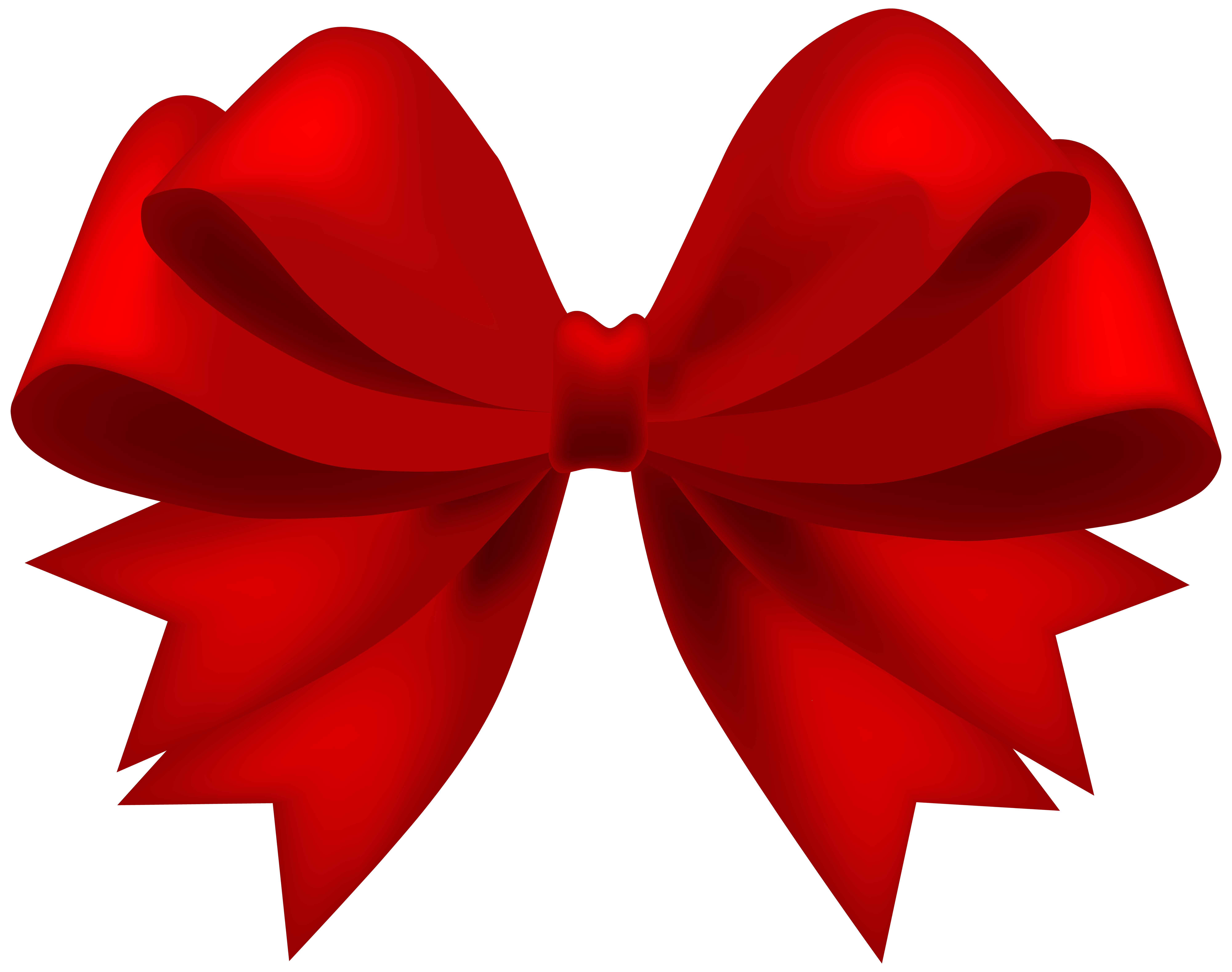 Red Bow Transparent PNG Clip Art Image | Gallery Yopriceville ...