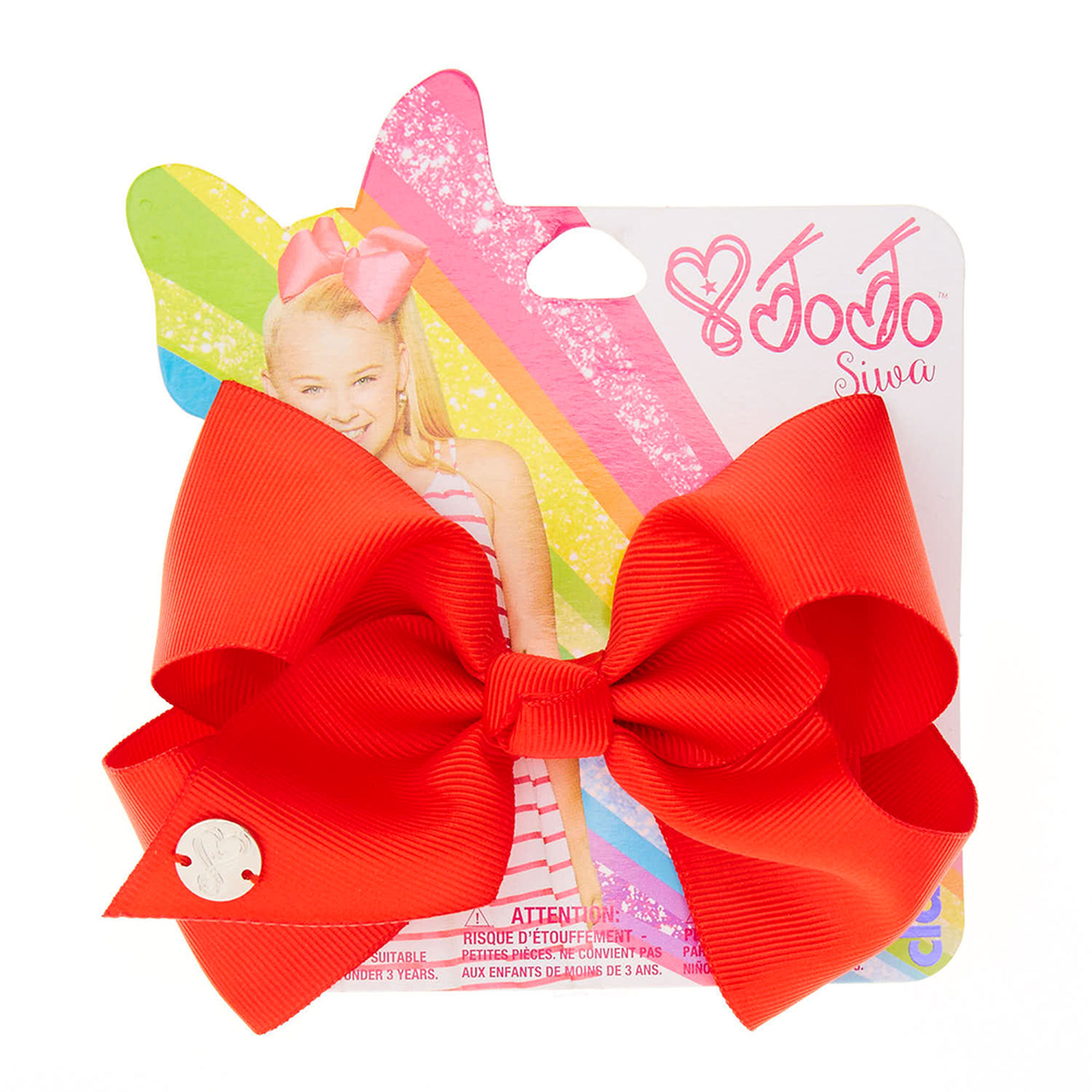 JoJo Siwa Small Red Back To School Hair Bow | Claire's