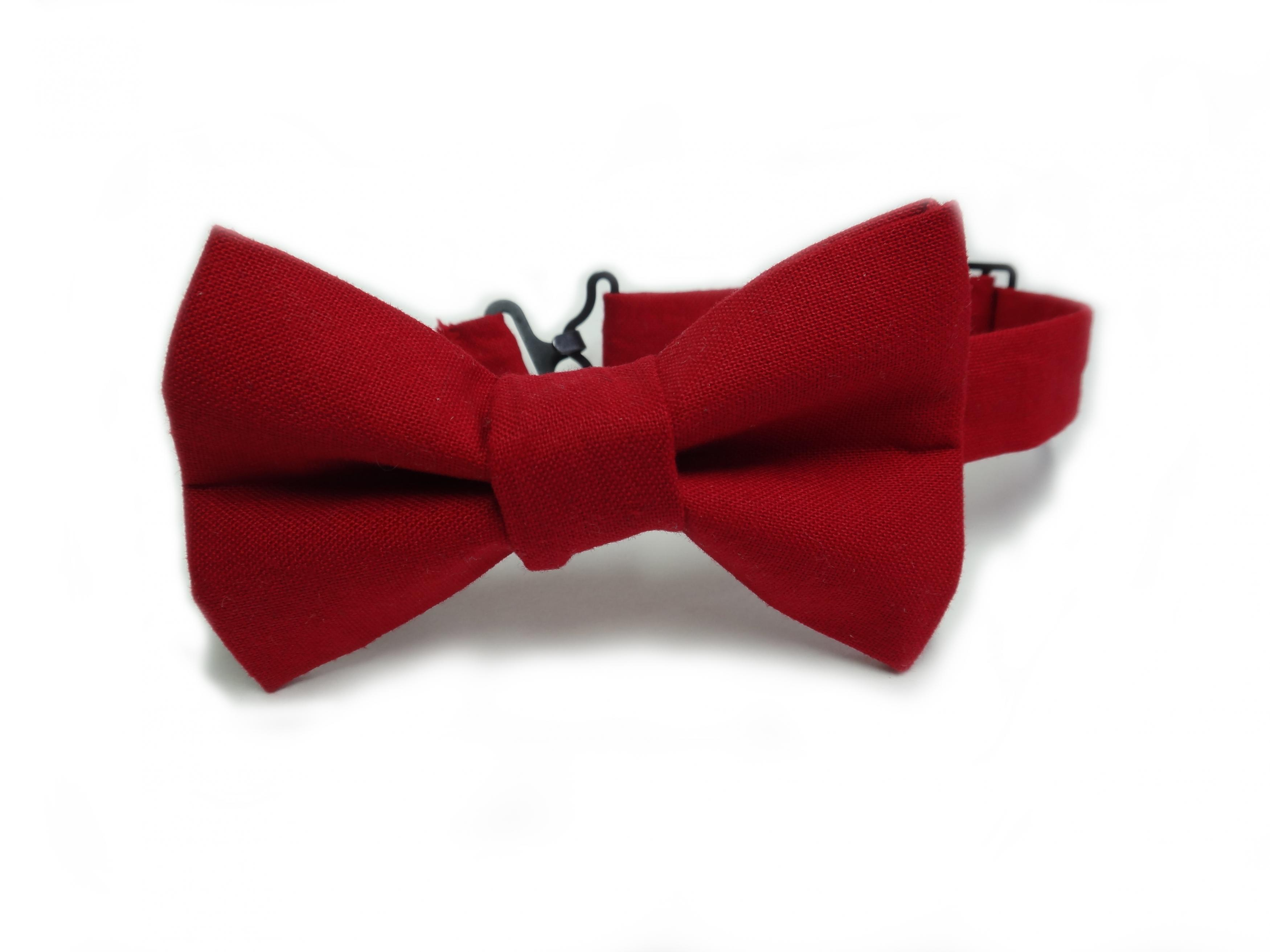 59 Red Bow Ties, Plain Burgundy Red Bow Tie From Ties Planet UK ...
