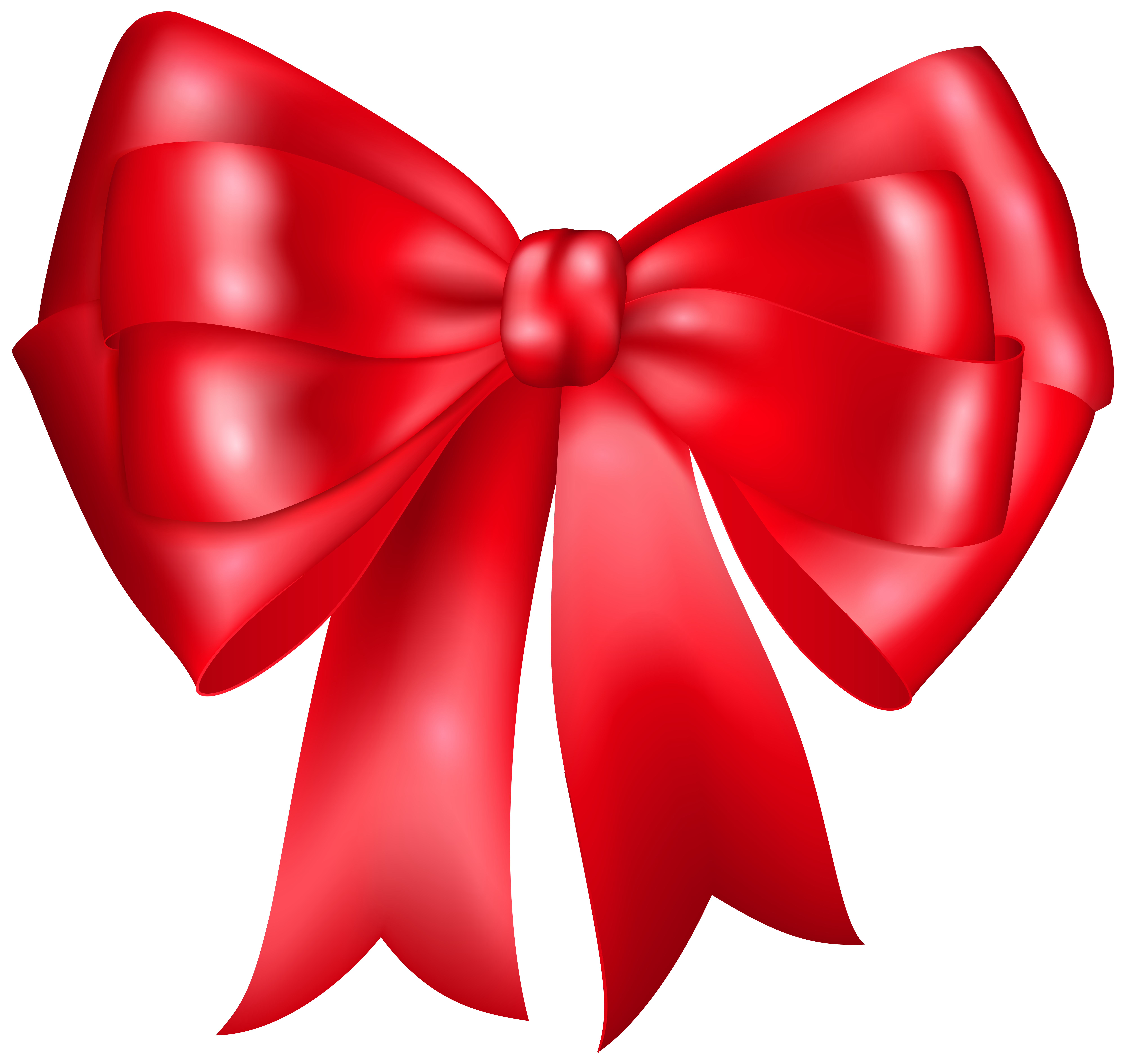 Red Bow Clip Art PNG Image | Gallery Yopriceville - High-Quality ...