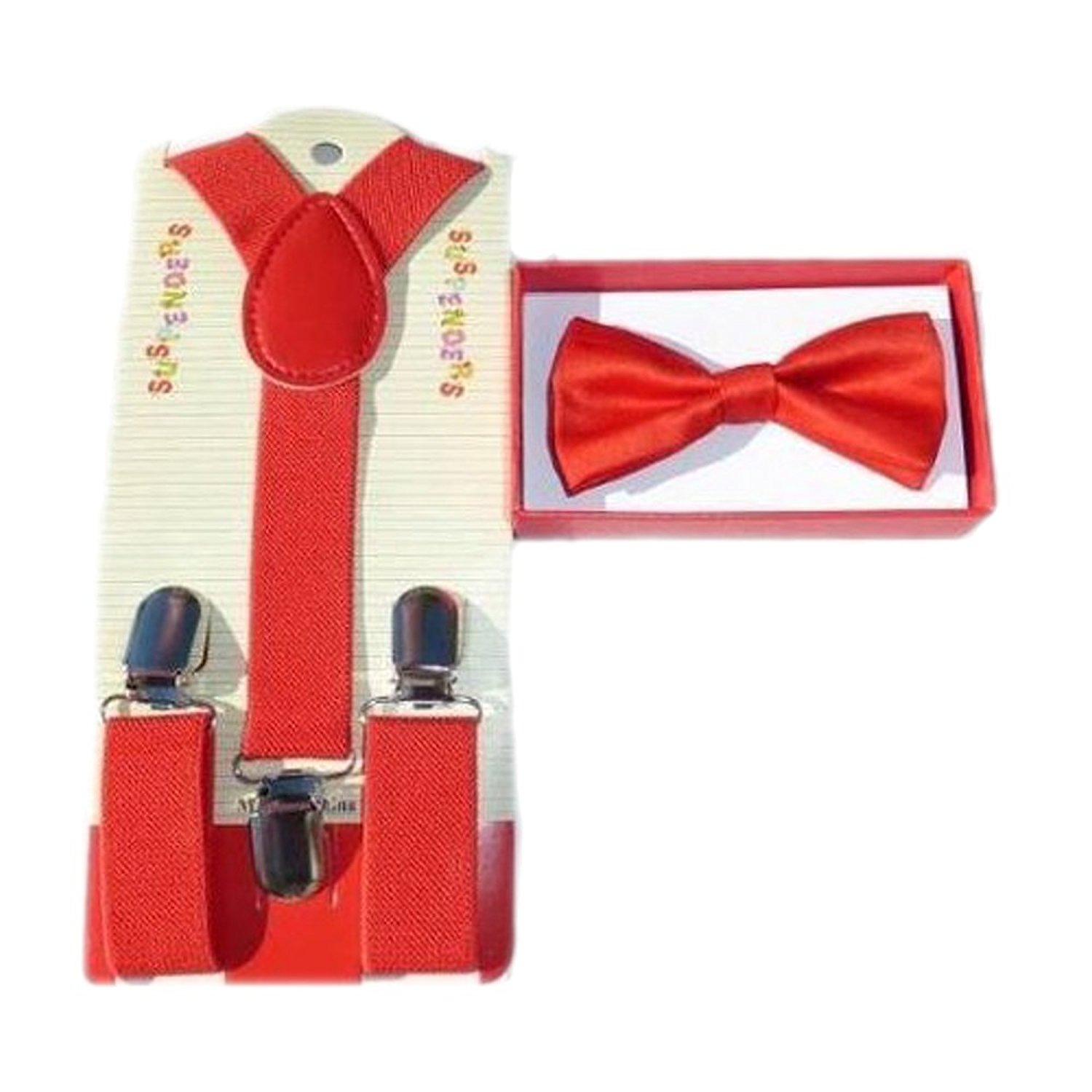 Amazon.com: Baby Toddler Kids Children Boys Girls Red Bow Tie ...