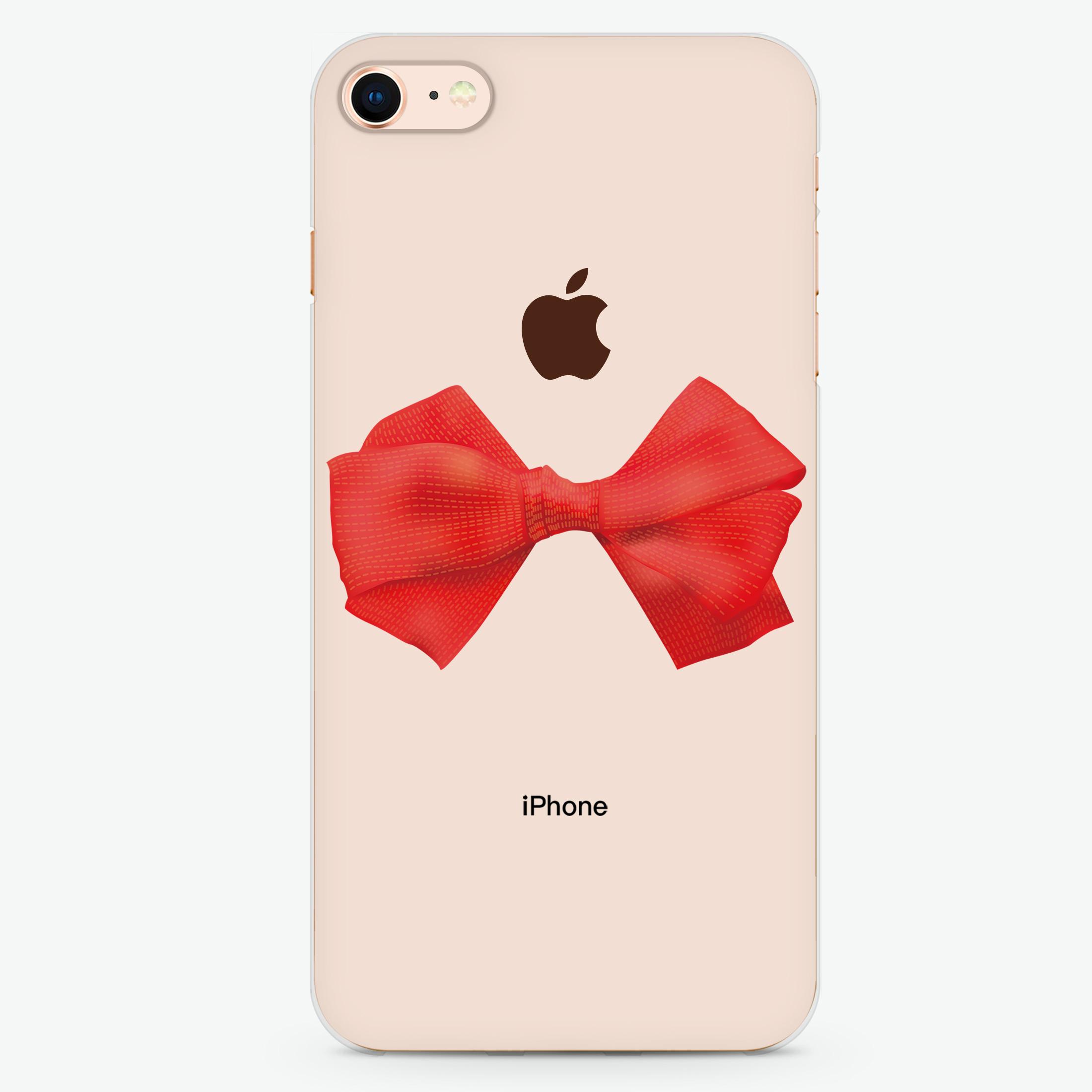 Red Bow iPhone 8 Cases - Hanogram – Hanogram