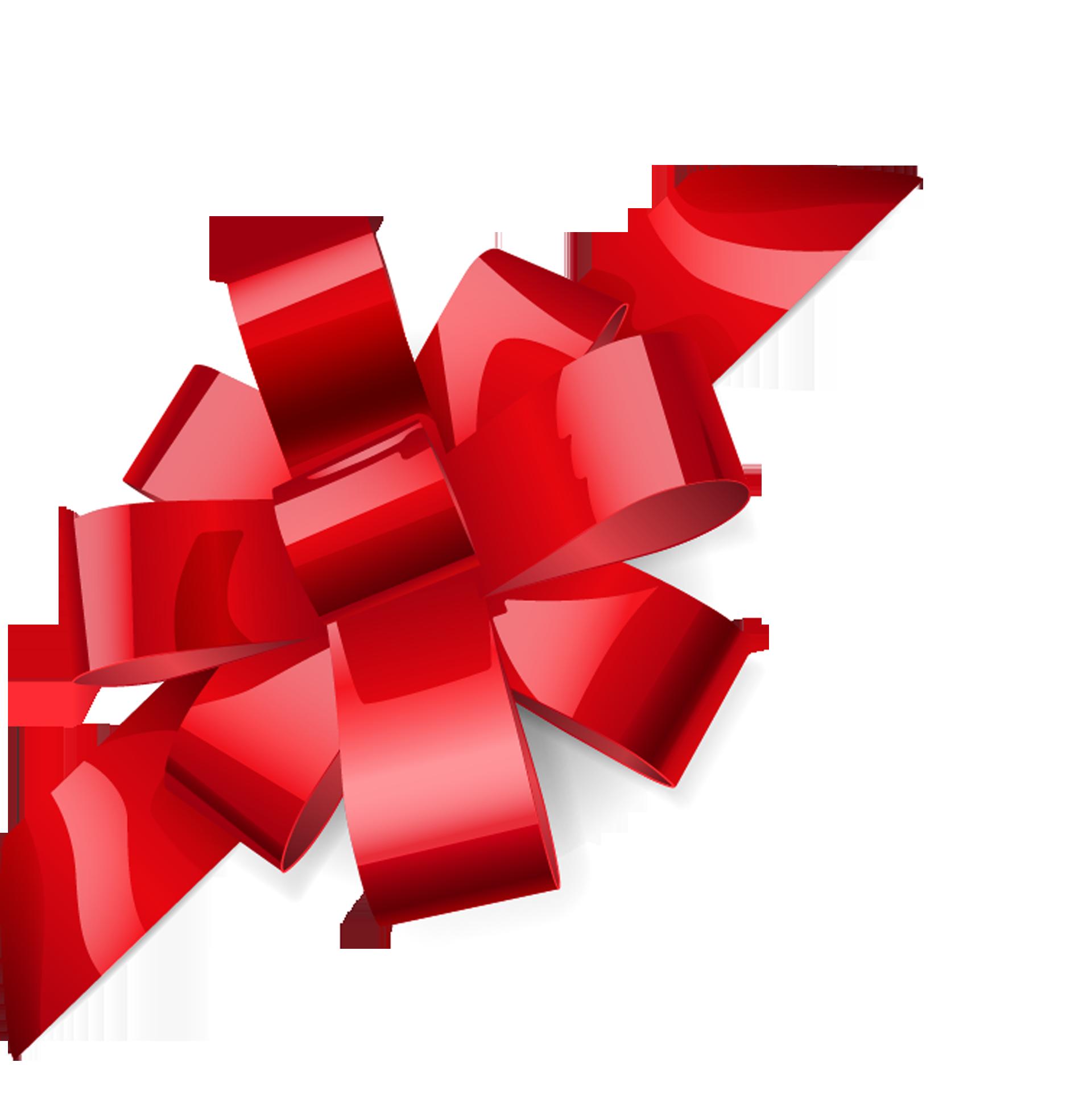 Ribbon Gift Royalty-free Illustration - Red bow 1890*1969 transprent ...