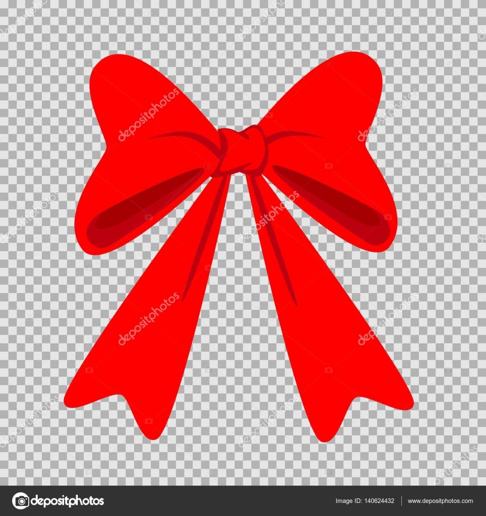 red bow transparent background — Stock Vector © romanovska1982@gmail ...