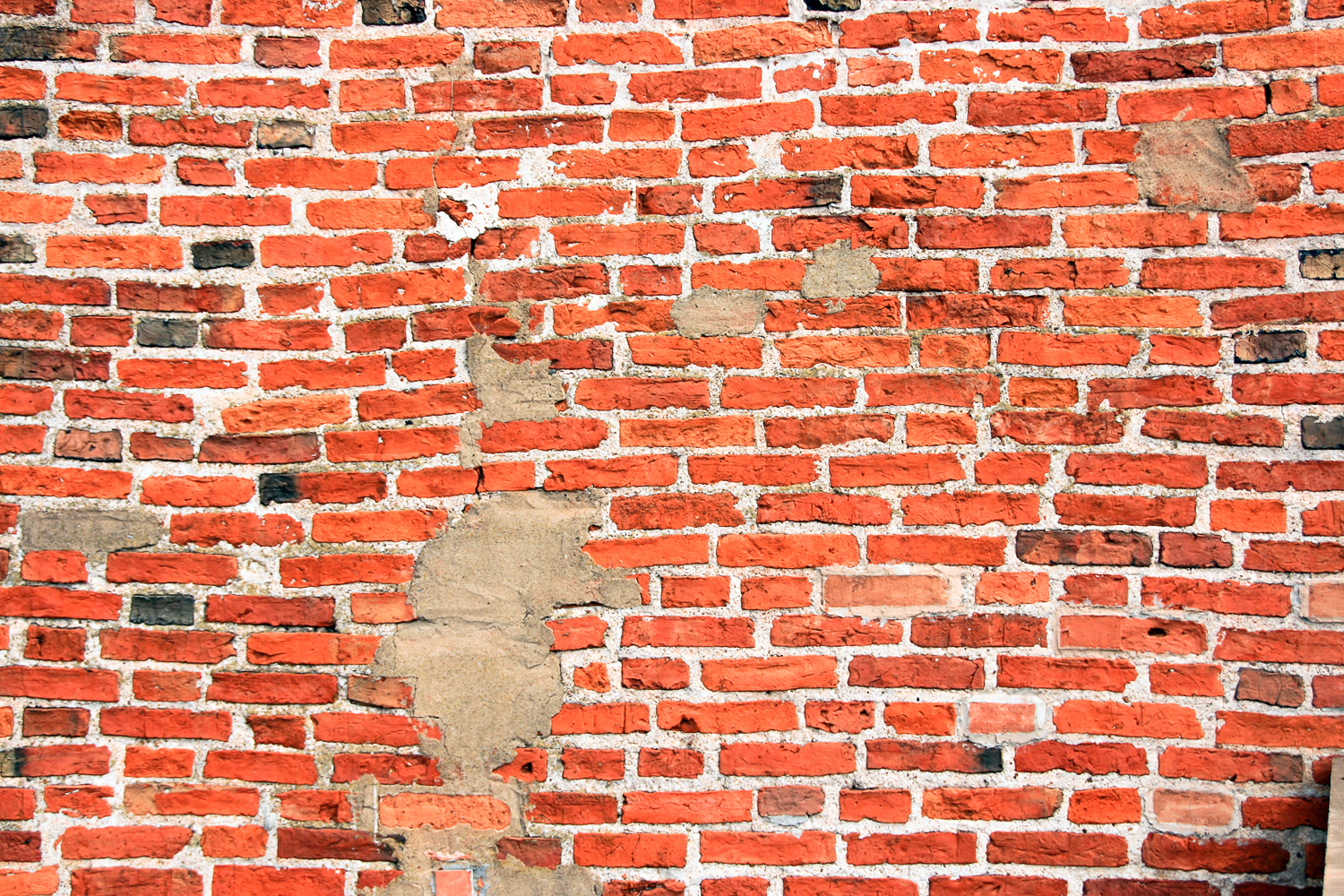 Red brick wall, Aging, Structure, Red, Revival, HQ Photo