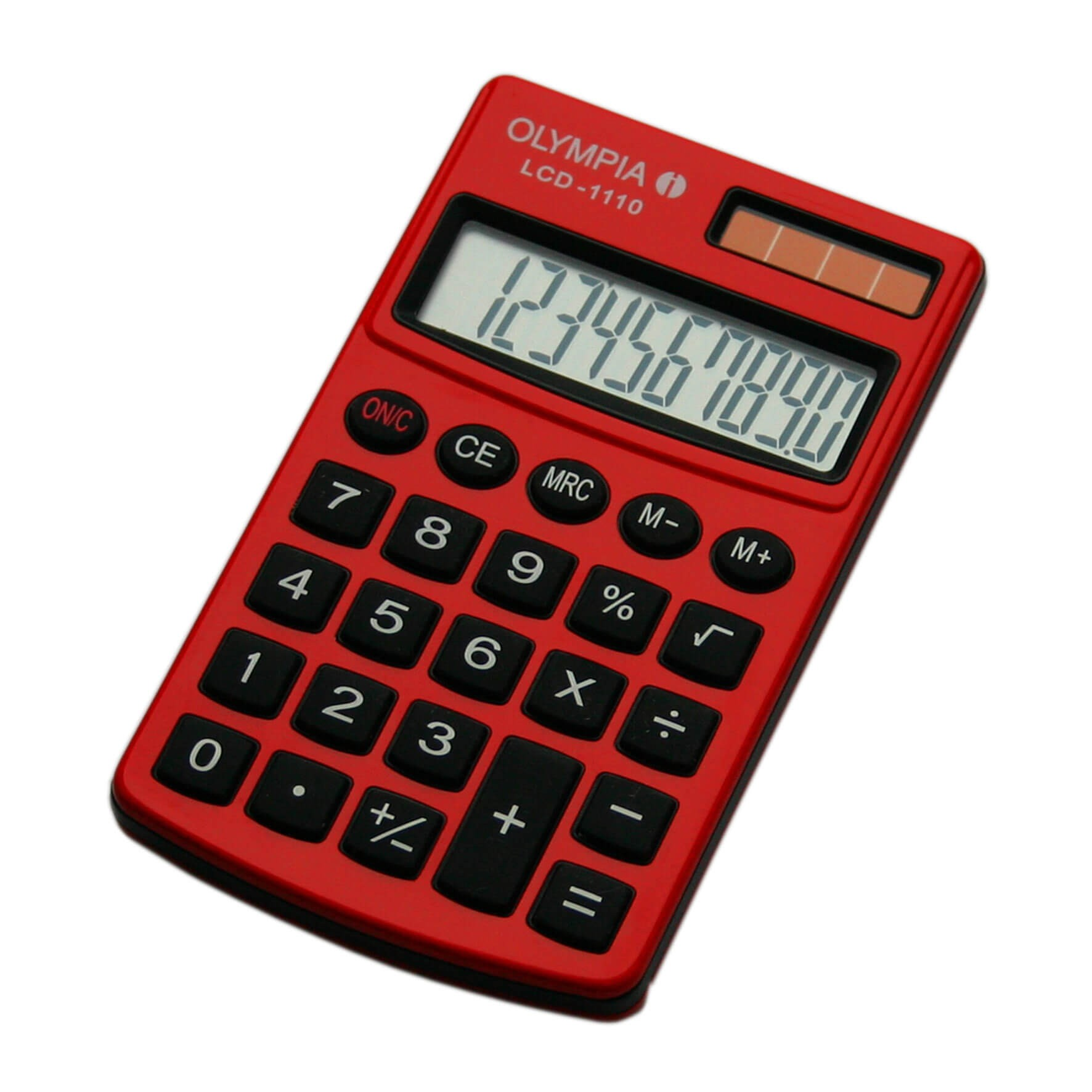 Olympia Pocket LCD - 1110 Calculator, 10 Digits, Red in Dubai & Abu ...
