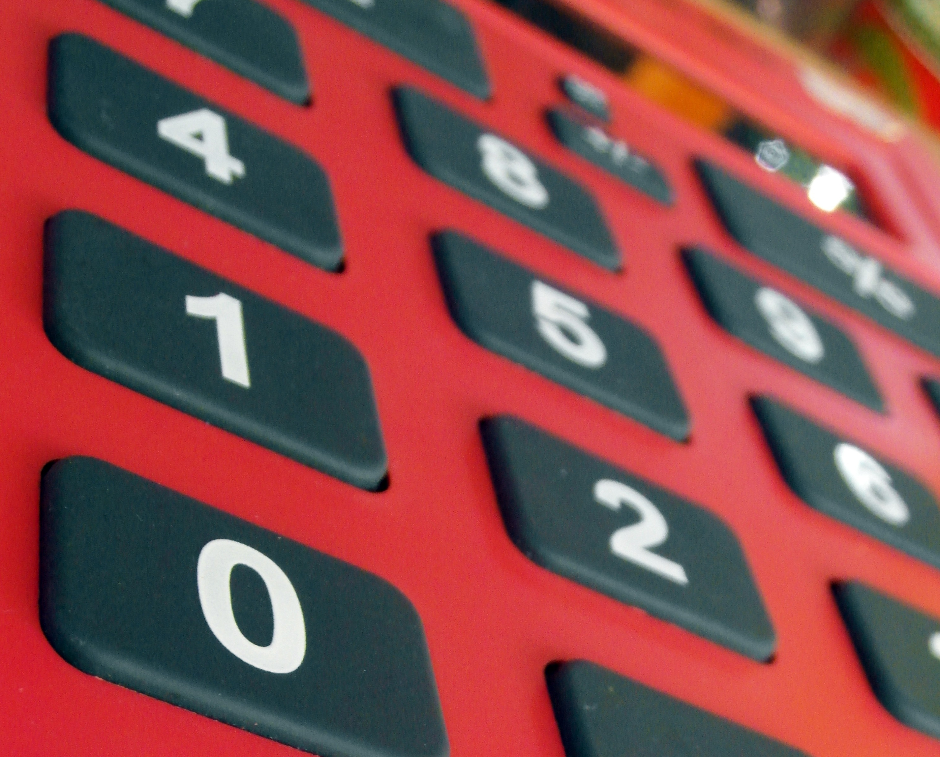 Red Calculator, Account, Payment, Invoice, Management, HQ Photo