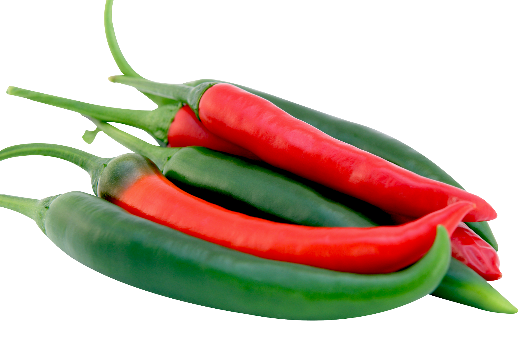 Red and Green Chilli Peppers - PngPix