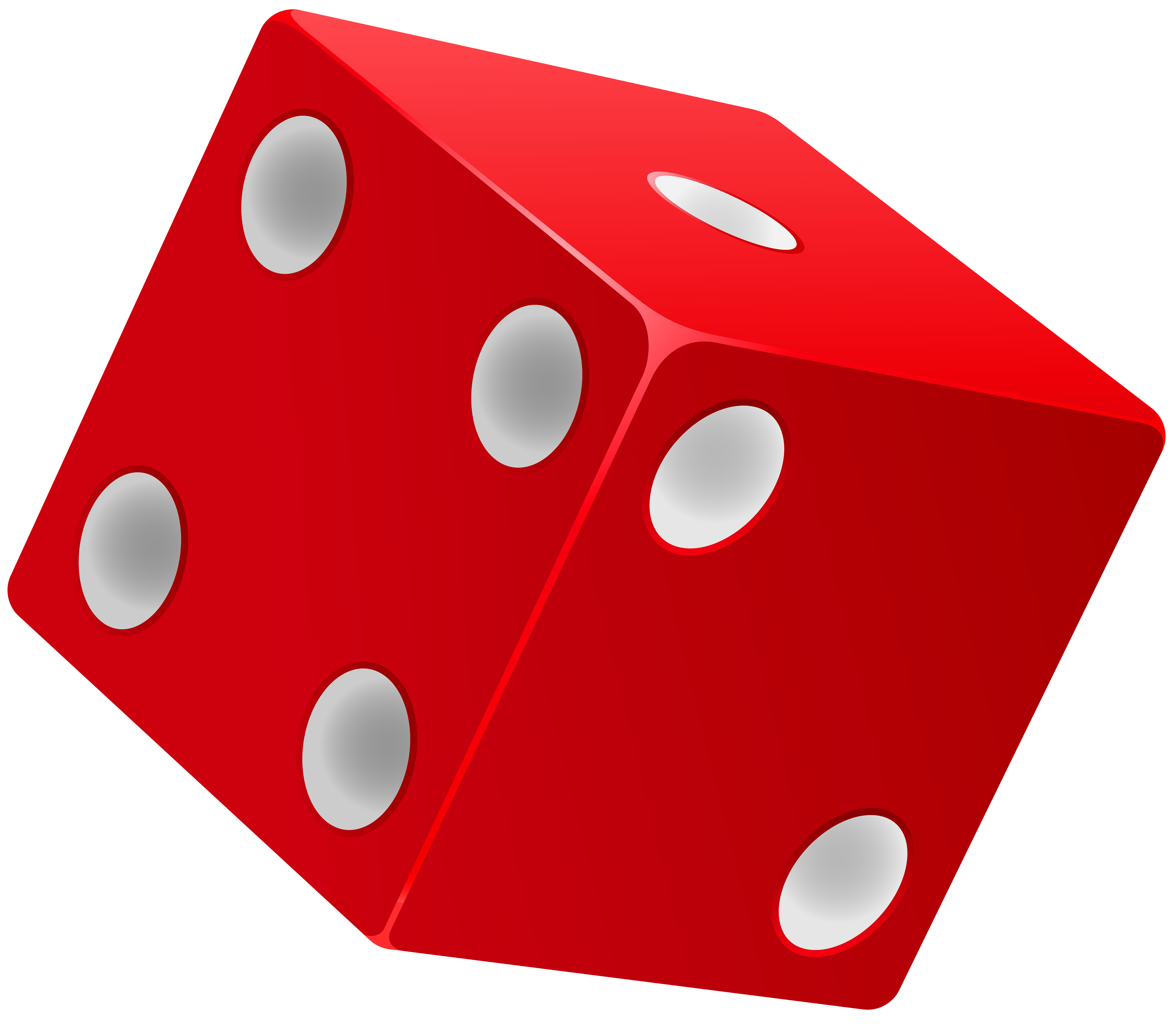 Red Dice PNG Clip Art - Best WEB Clipart