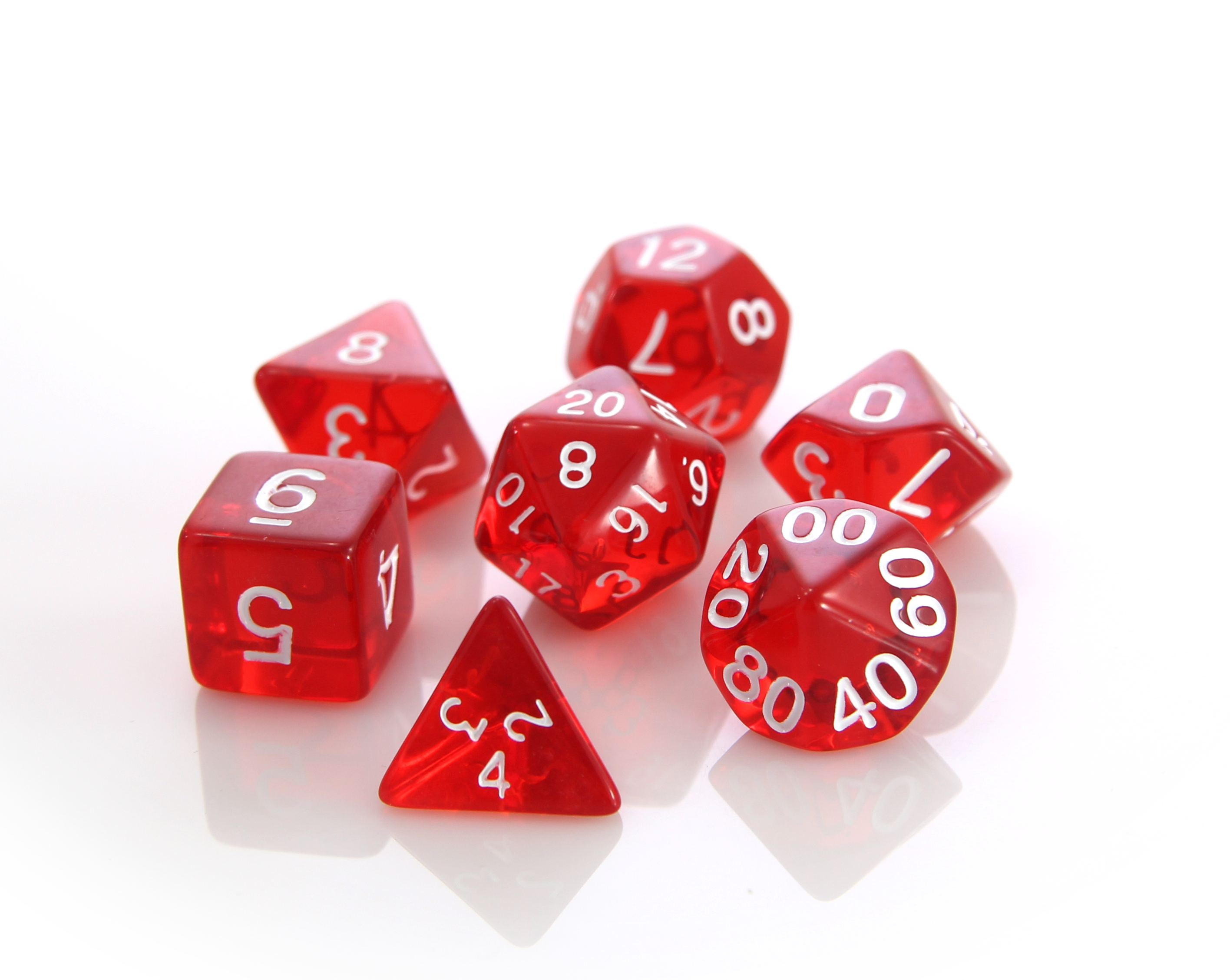 Red | Die Hard Metal Dice | Roll with the Best.