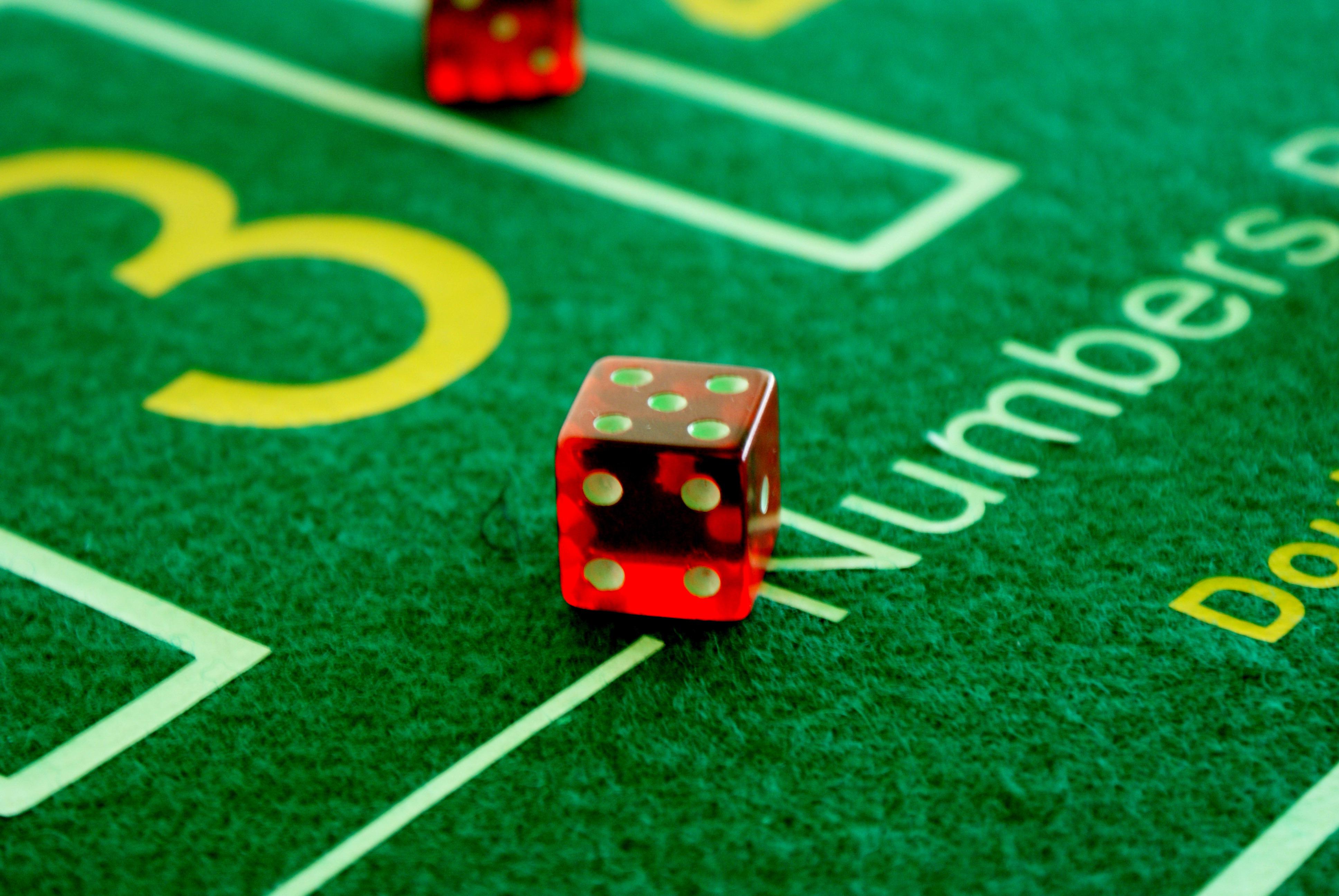 Red Dice, Casino, Dice, Gamble, Game, HQ Photo