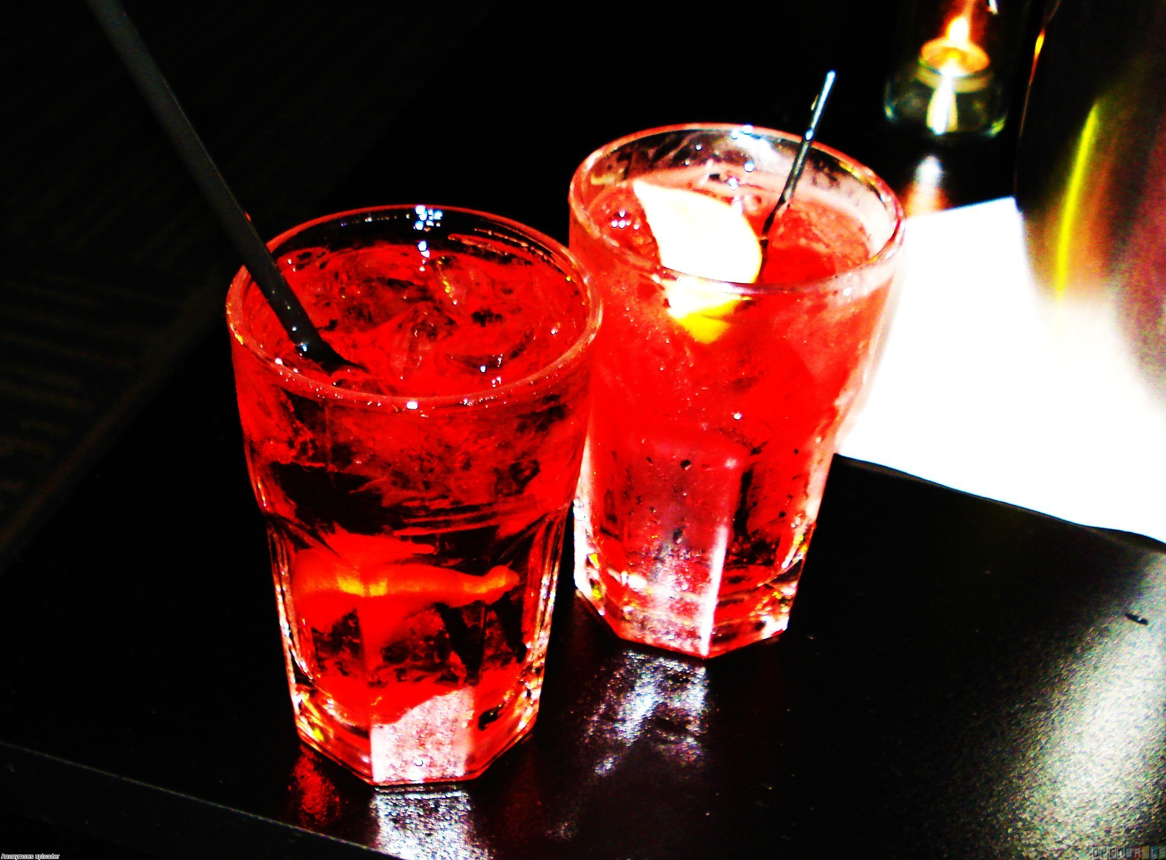 Red drink photo