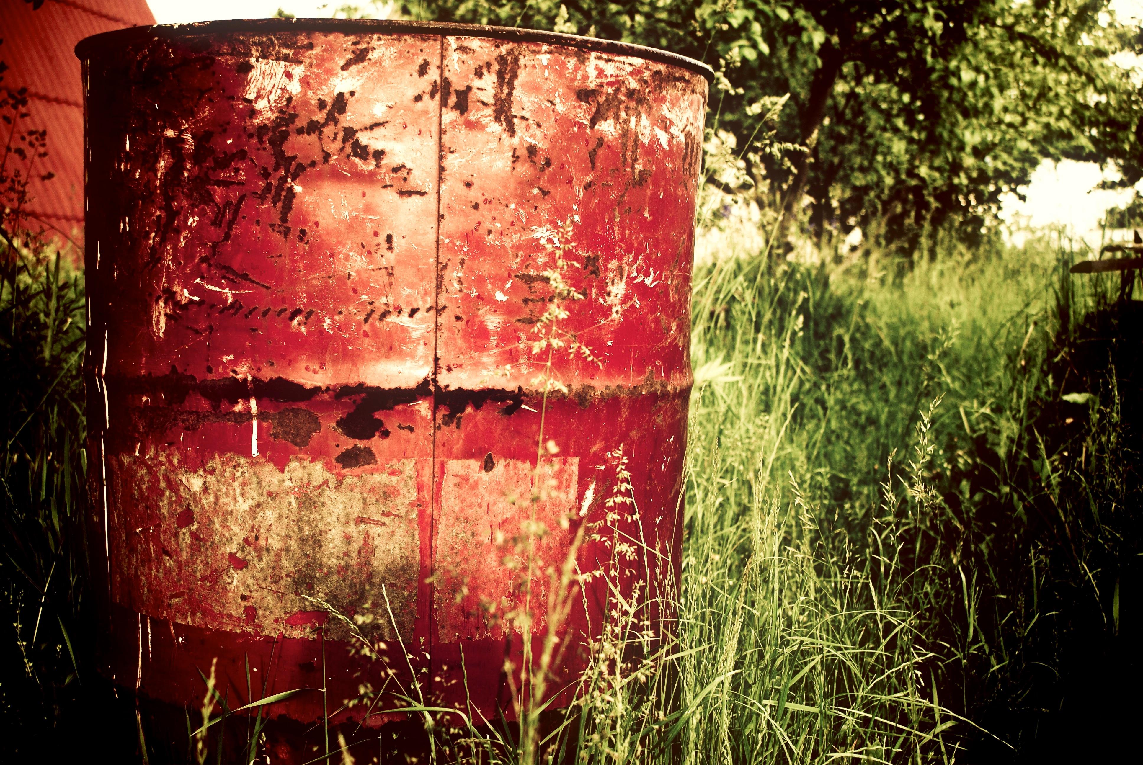 Red Drum, Rust, Round, Red, Drum, HQ Photo