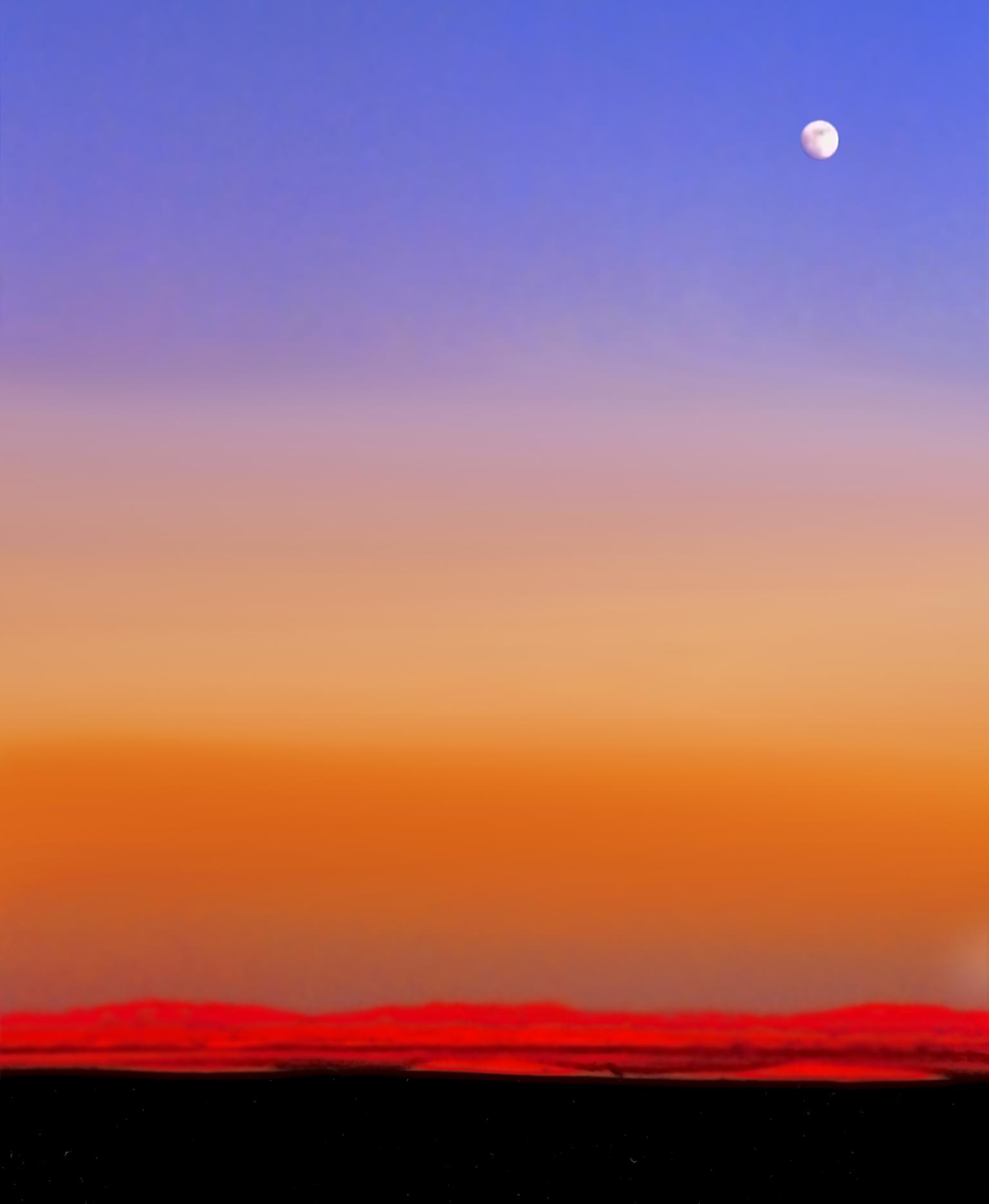Red dunes, Black, Blue, Bspo06, Colors, HQ Photo