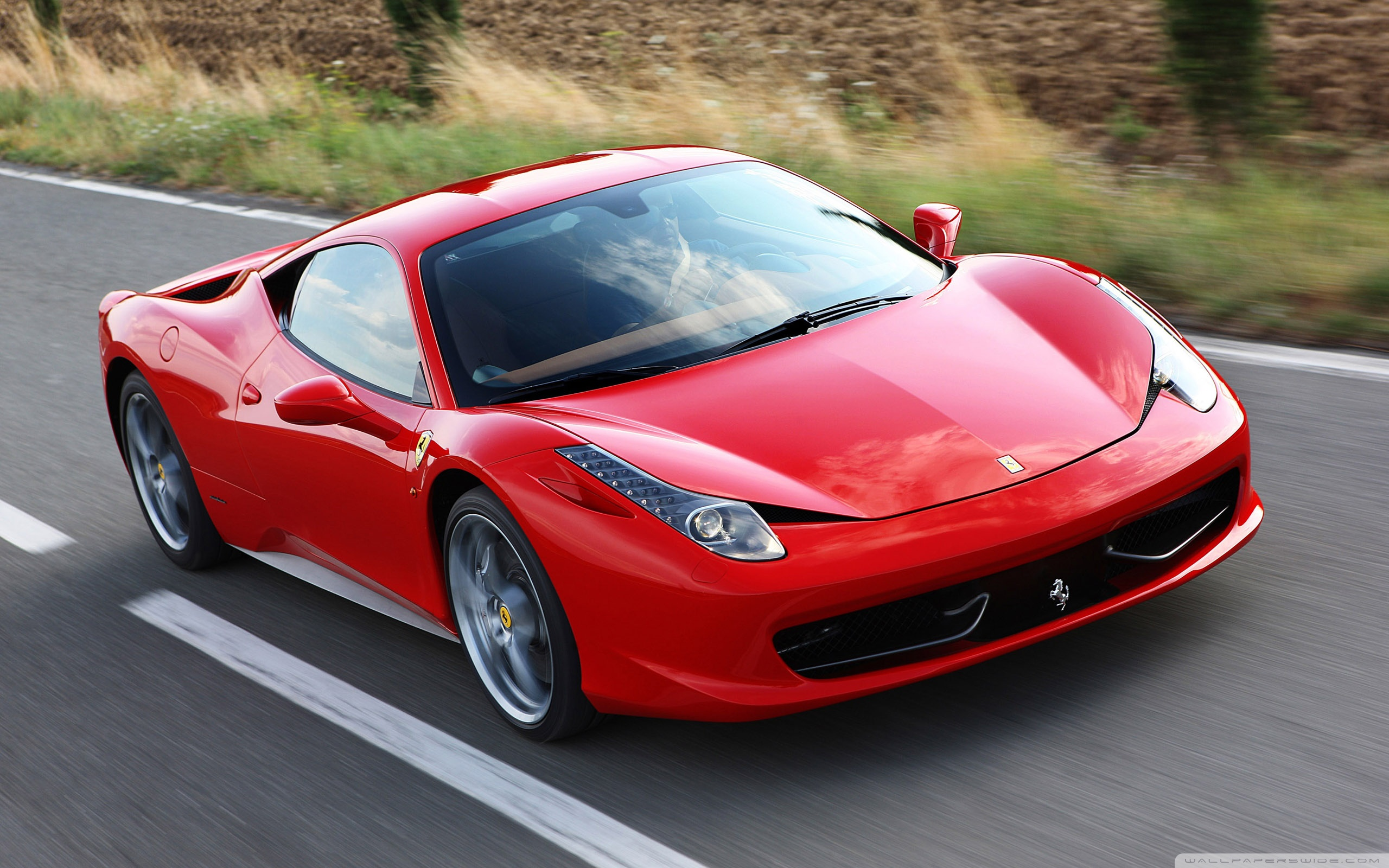 Red Ferrari 458 Italia ❤ 4K HD Desktop Wallpaper for 4K Ultra HD TV ...