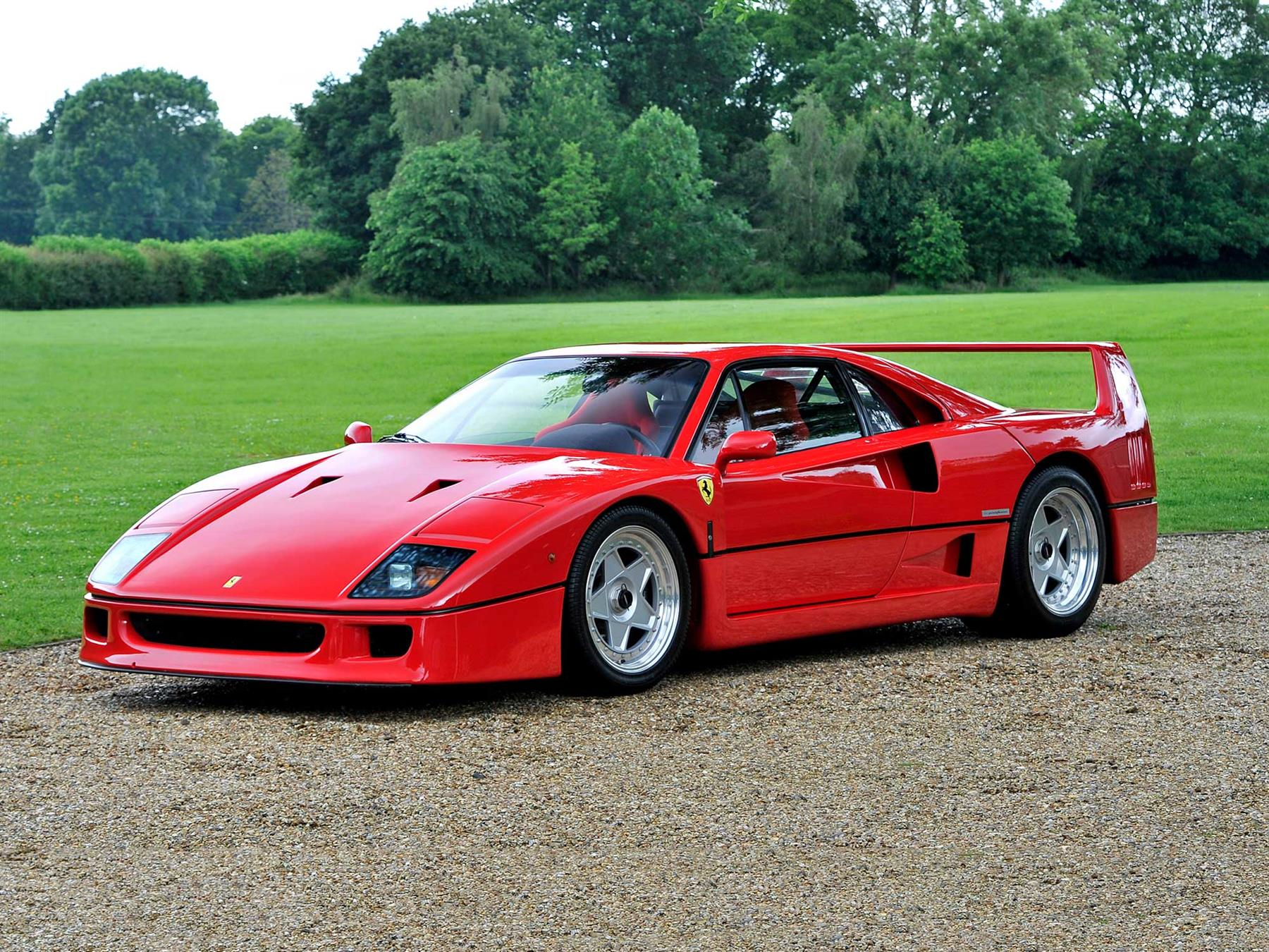 Image result for picture of red ferrari f40