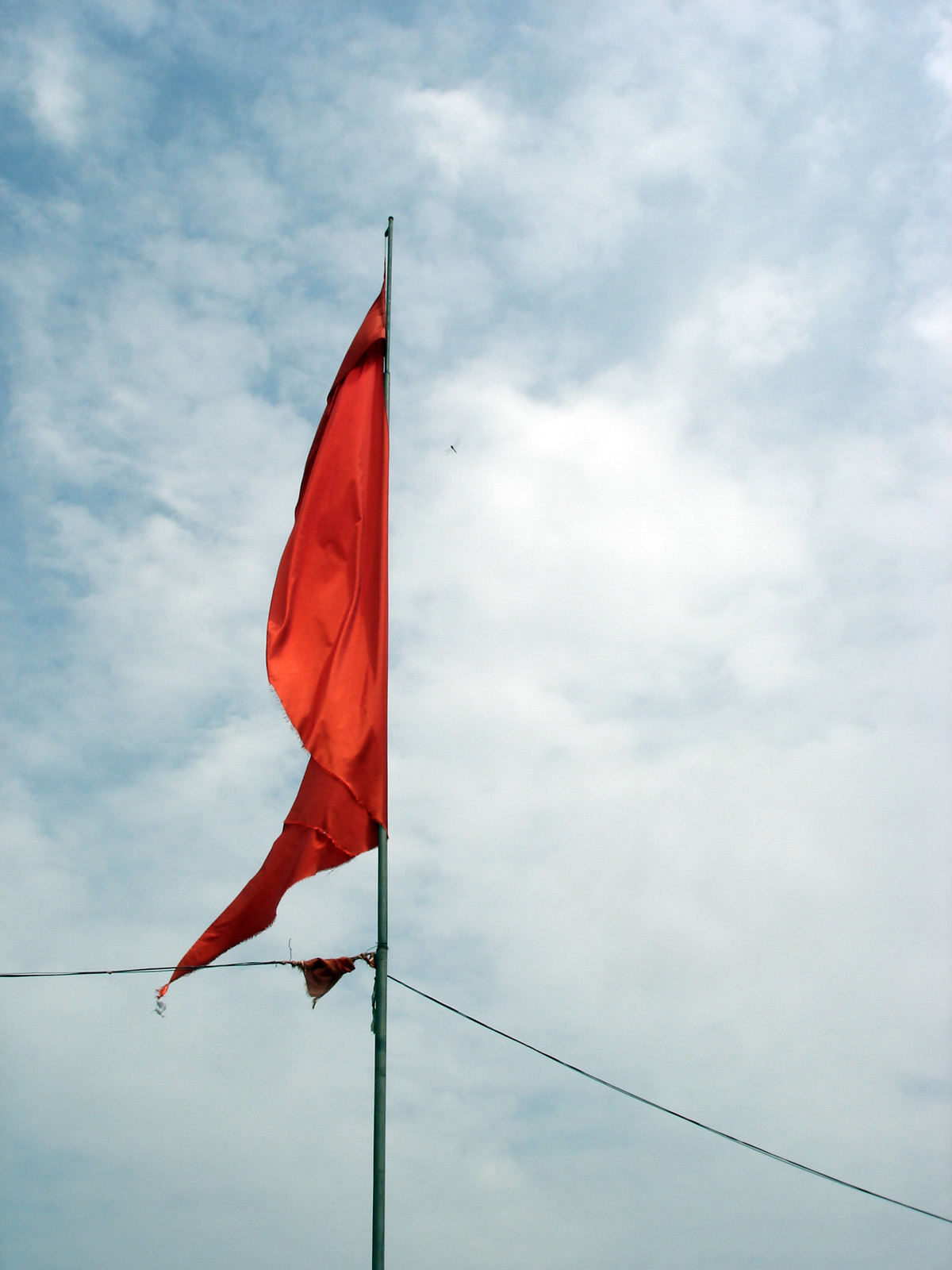 Red flag on the sky, Bspo06, Color, Flag, Holy, HQ Photo