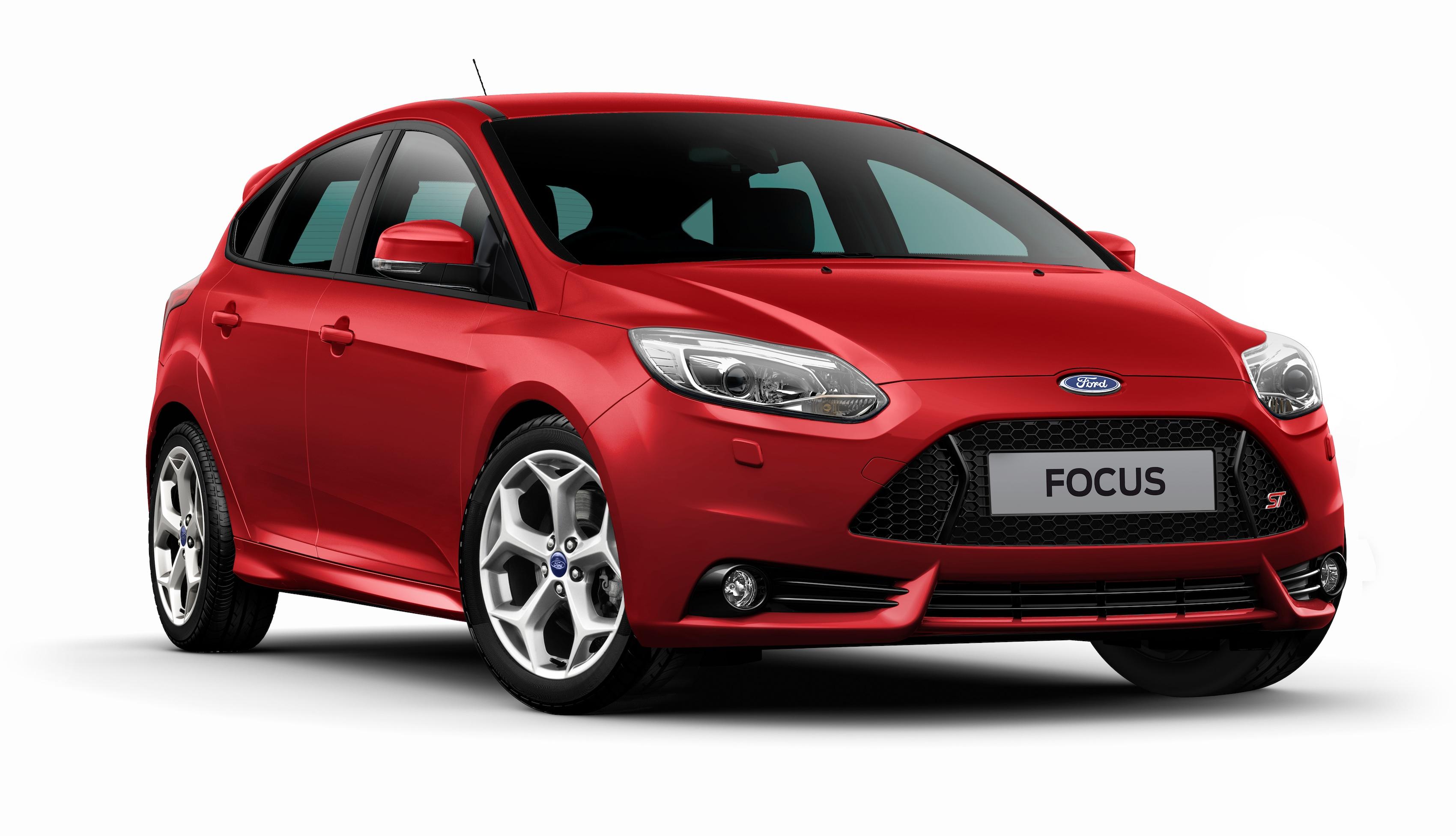 Ford Focus red gallery. MoiBibiki #1