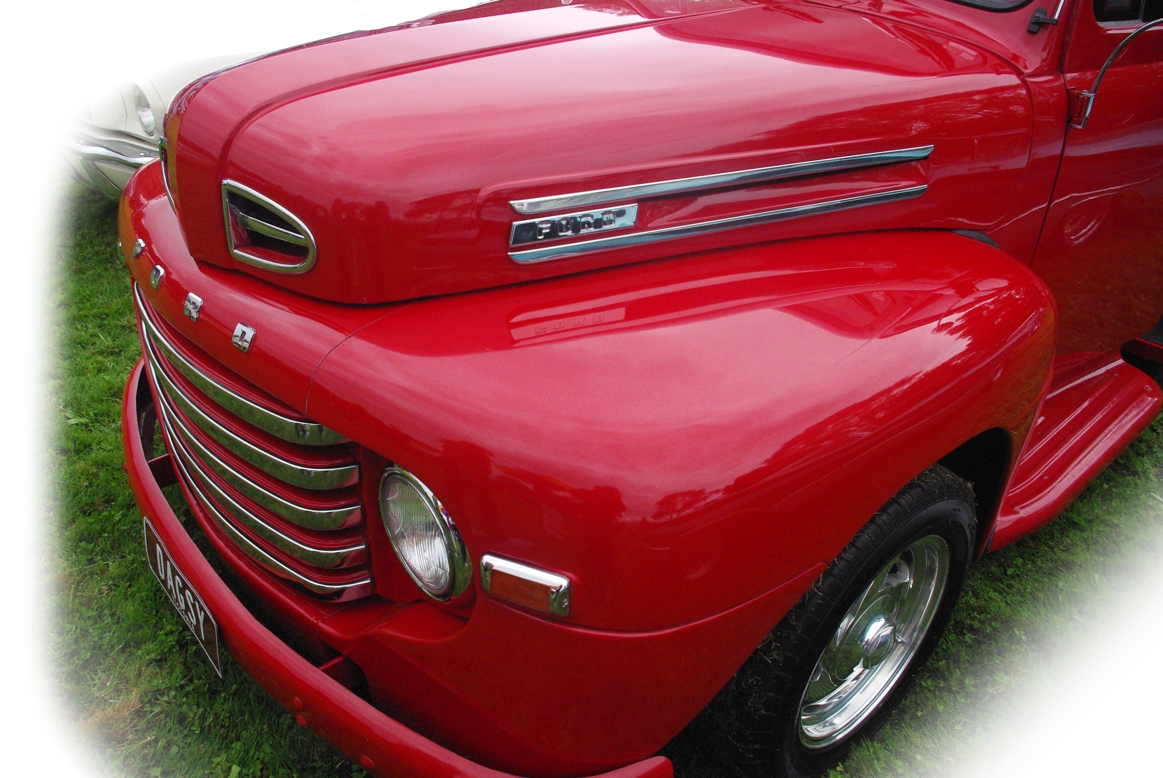 Red Ford, Automobile, Bonnet, Car, Ford, HQ Photo